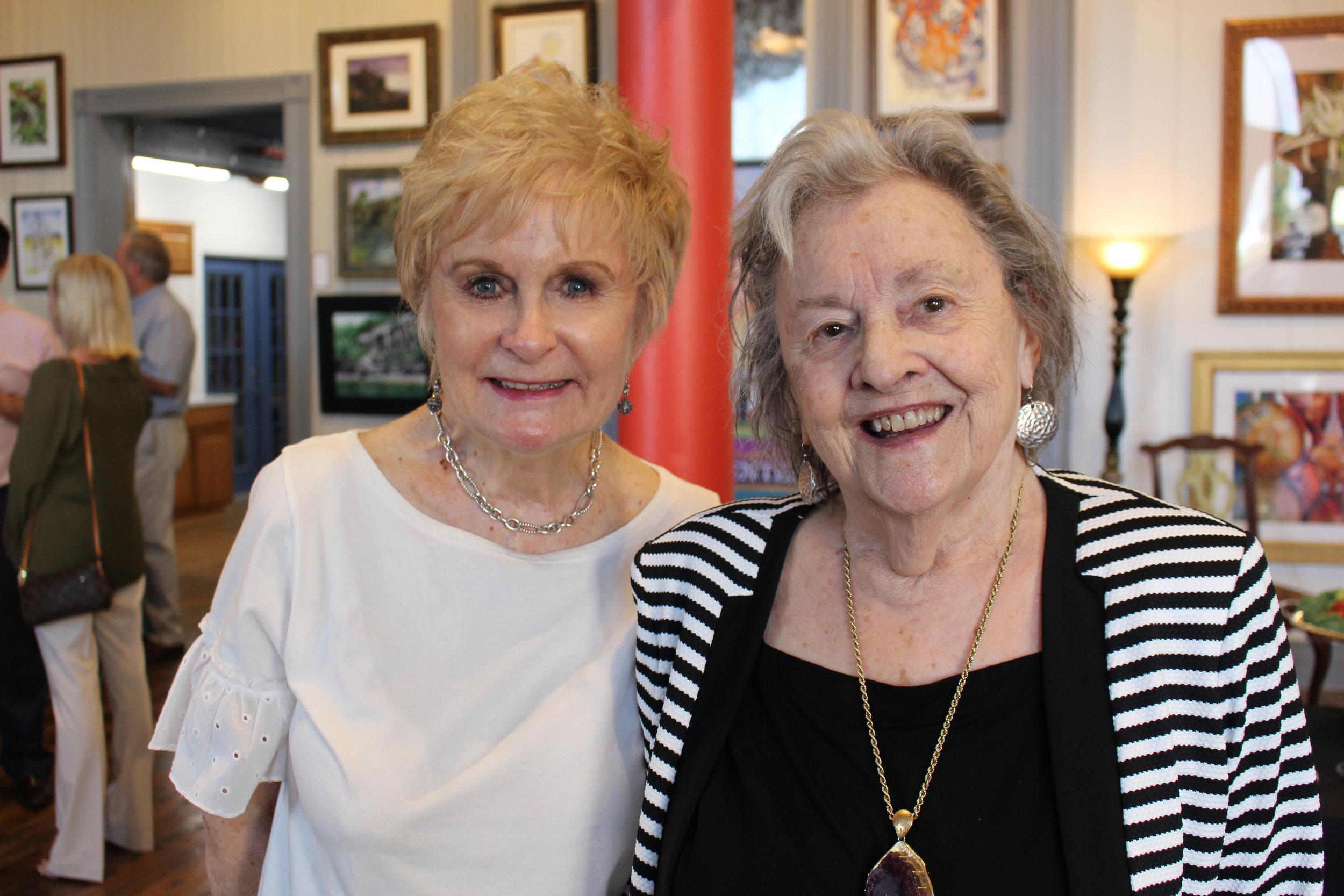 Jo Kahler and Pam McCoy