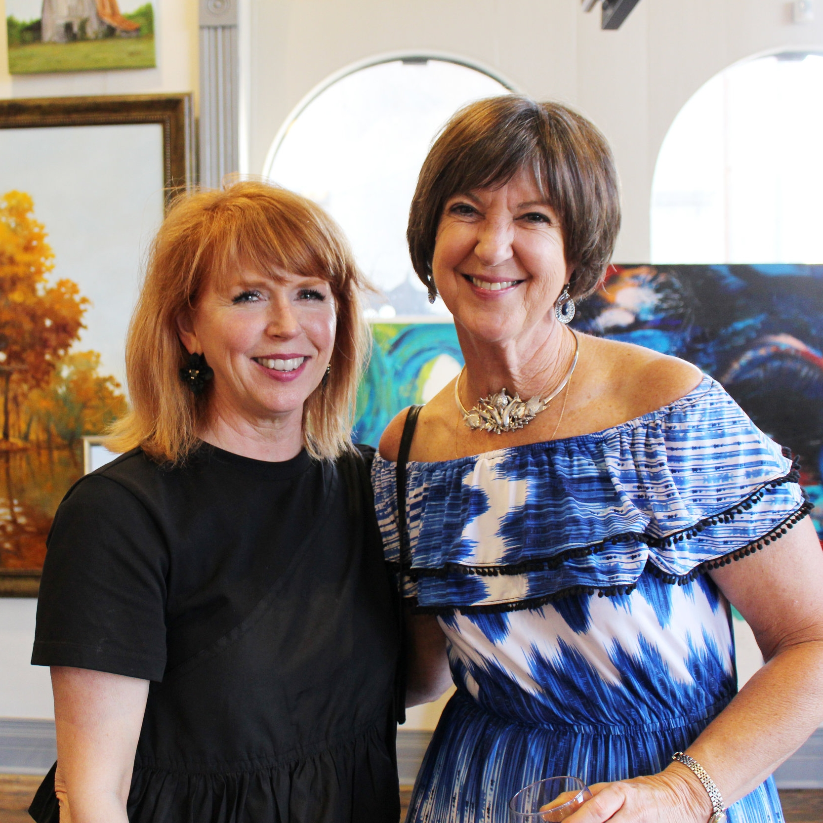 Hon. Caroline Craven and Gail Eichler