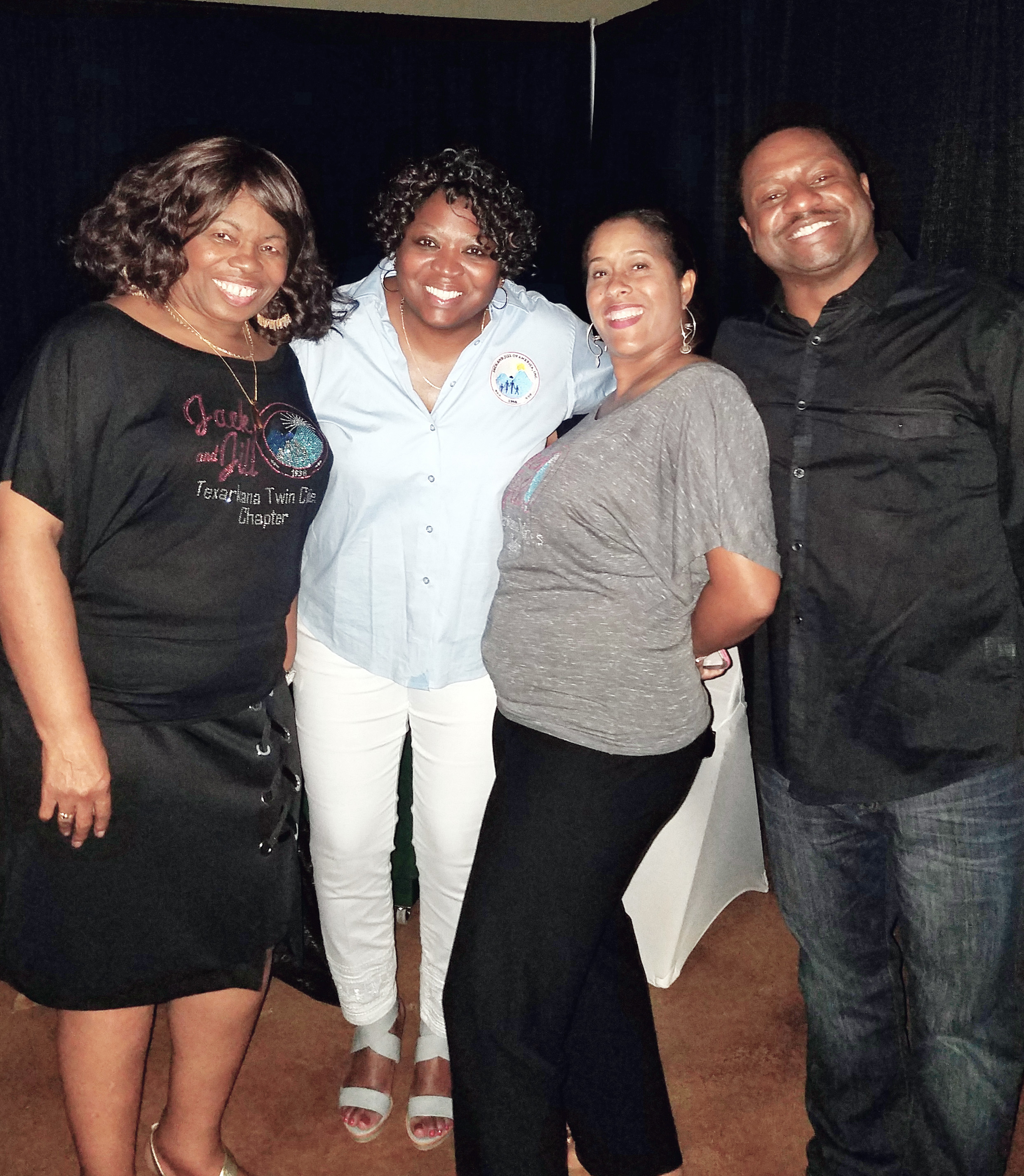 Maxine Crittenden and Dr. Jacqueline O'Donald with Treva and Dr. Kenneth West