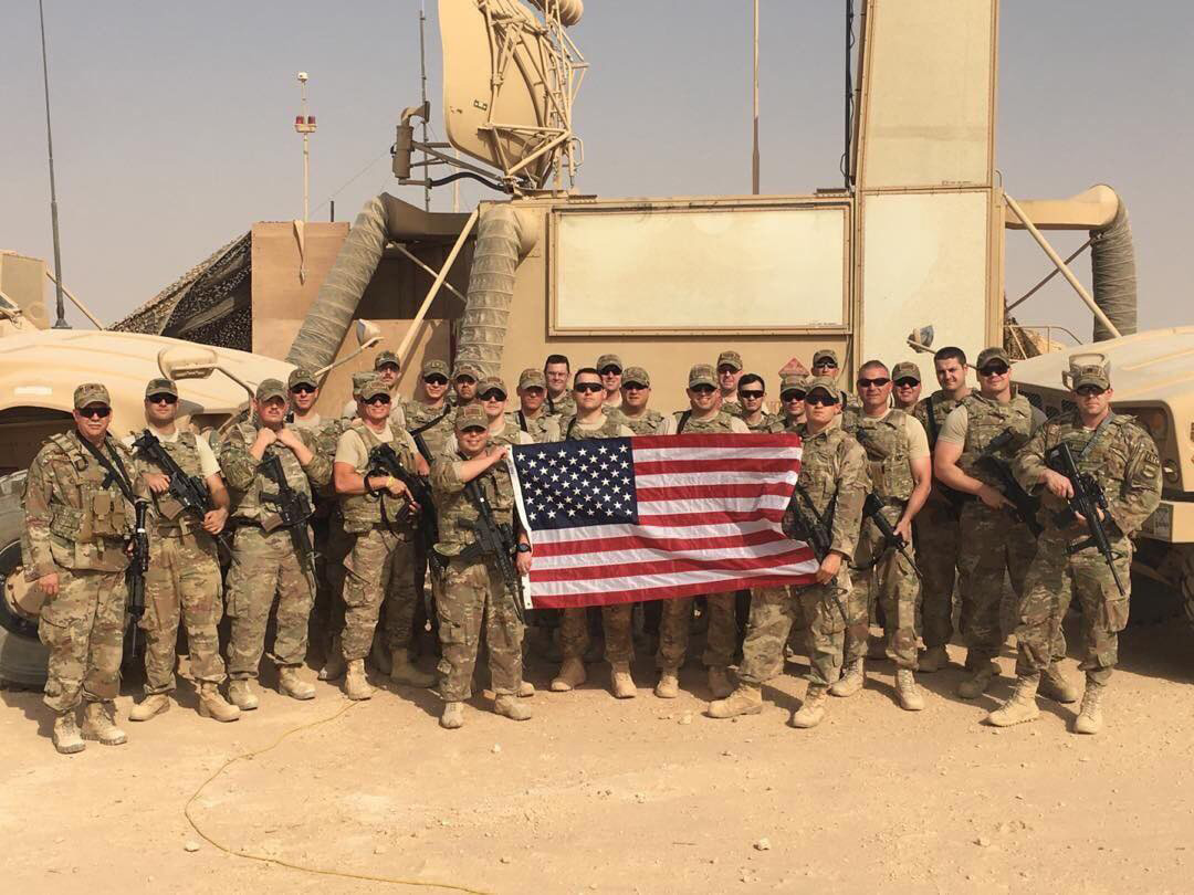 ^ From April-October 2017, Bubba was deployed to Iraq with the 259th and 260th ATCS. Air Traffic Control Squadron