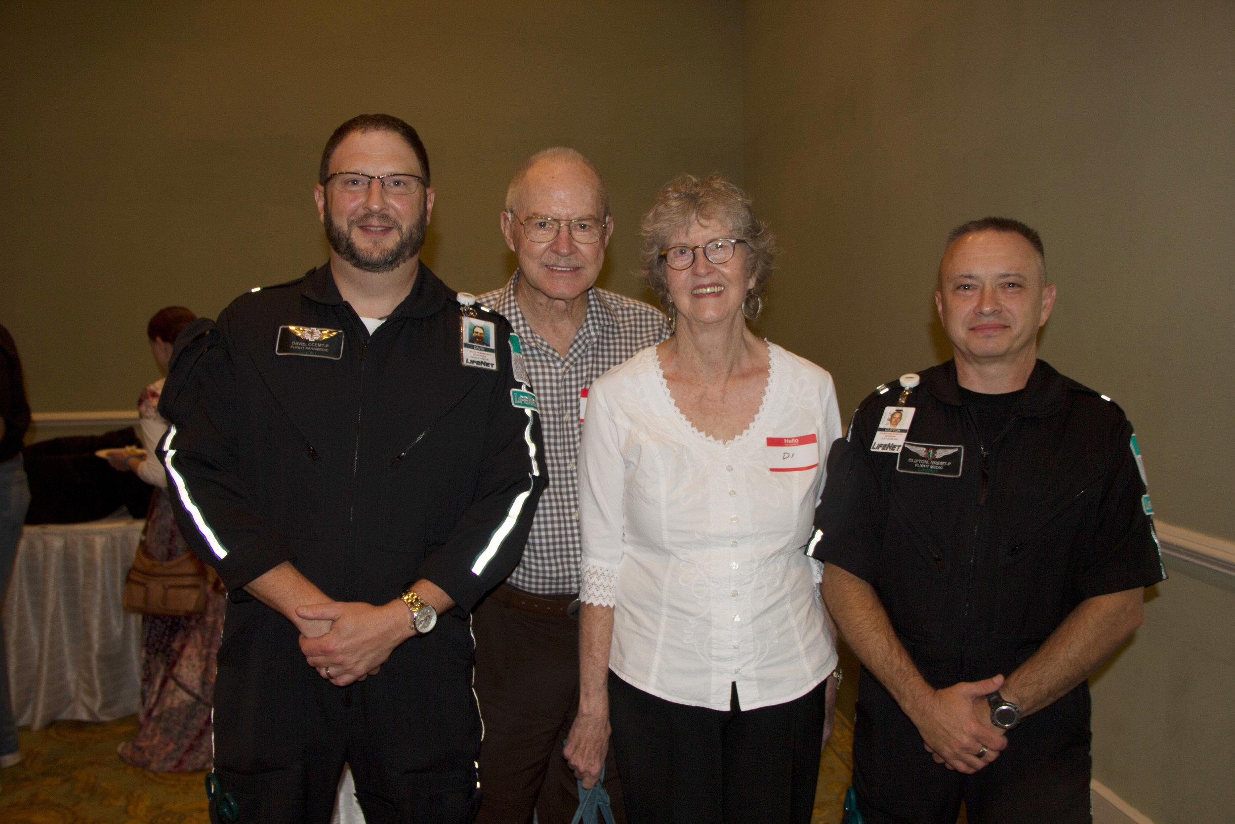 David Chreene, Roy Morgan, Dian Horton and Clifton Brown