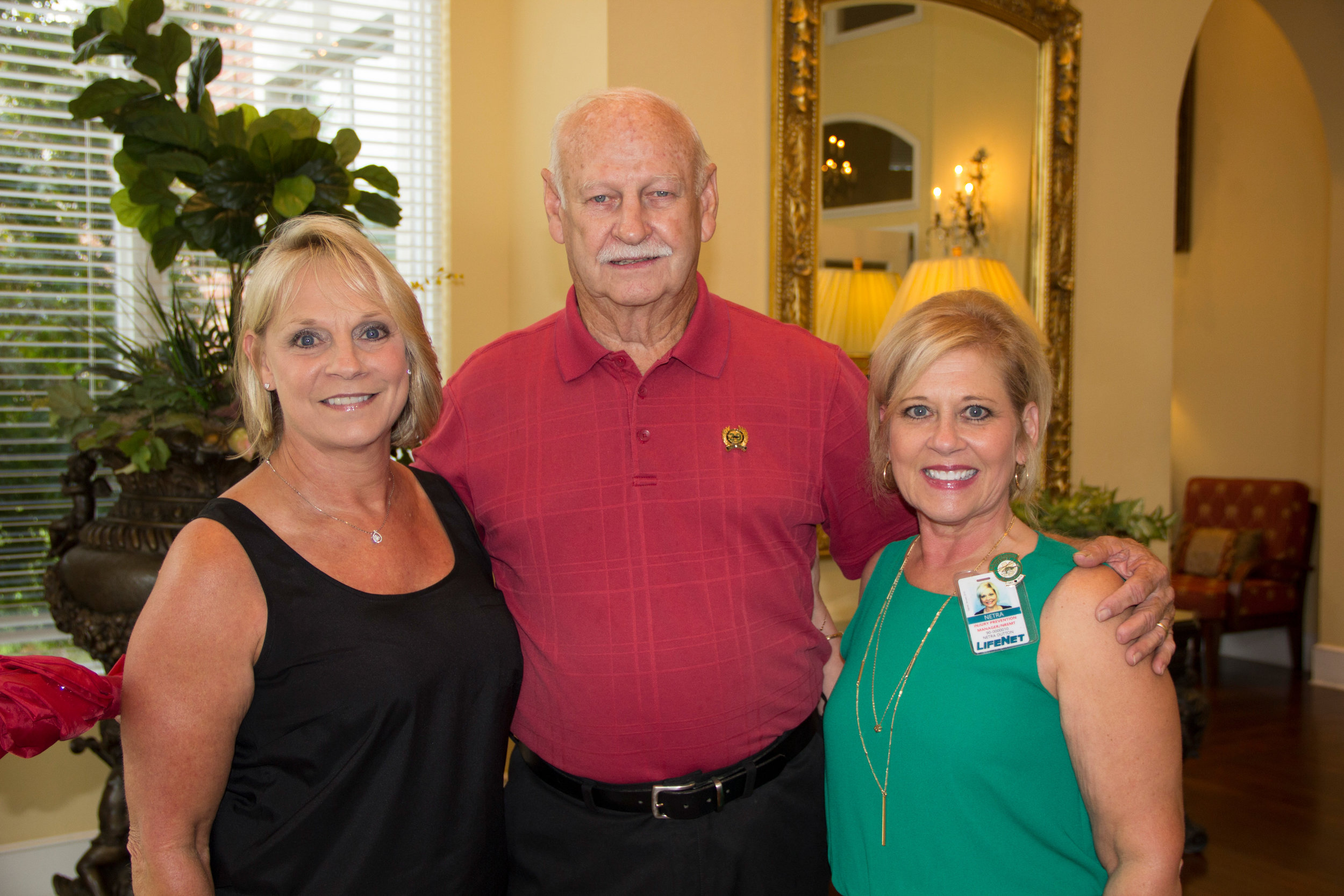 Cindy Smith, Doug Jones and Netra Dutton