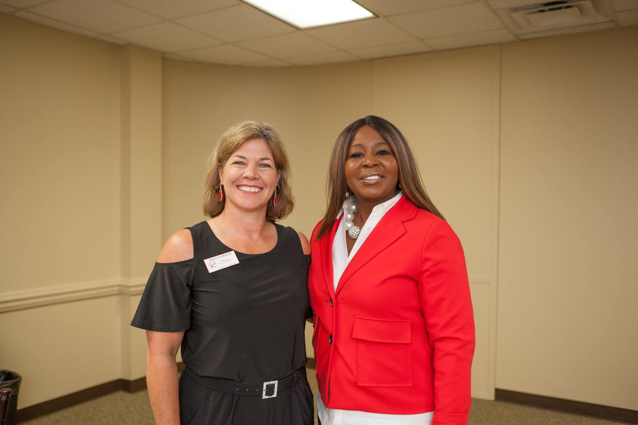 Tracey Boyles and Lekia Jones