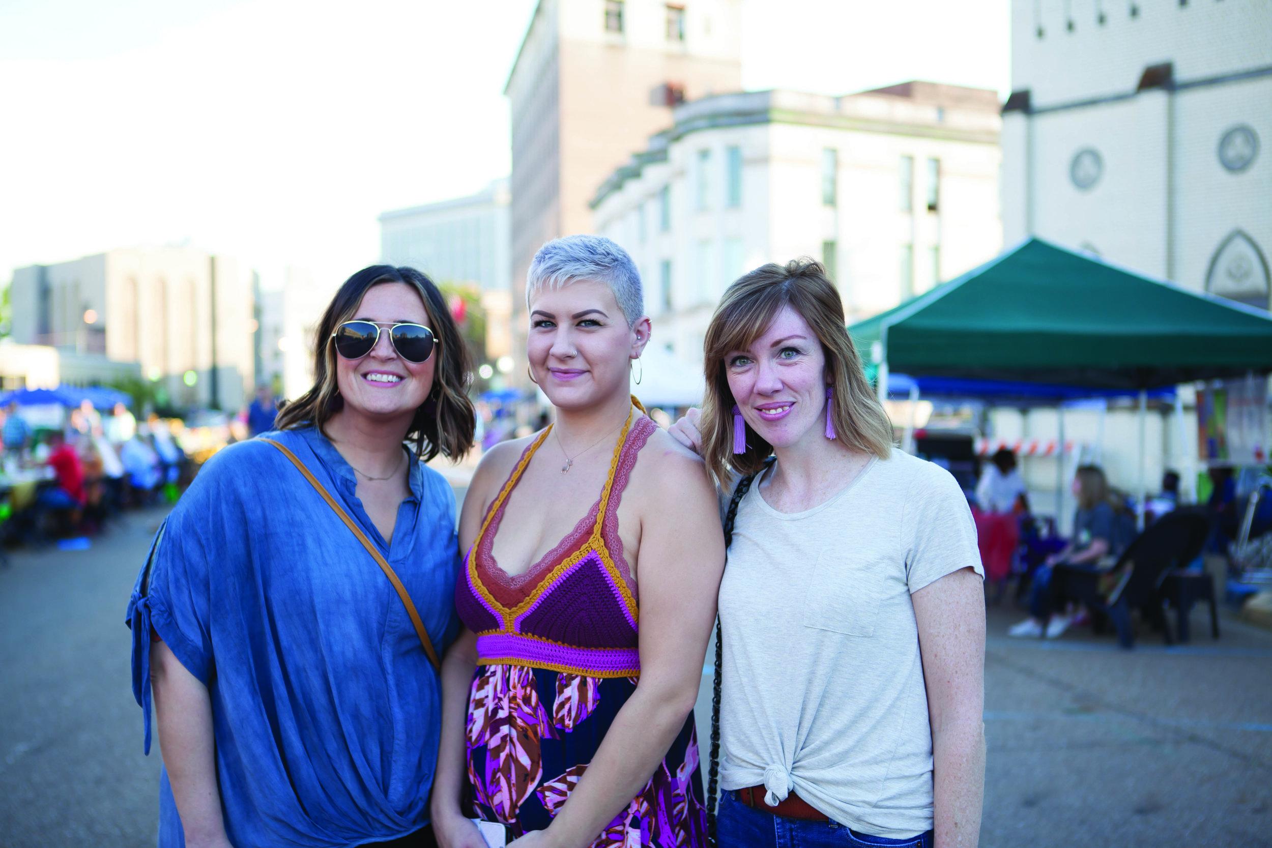 Sam Whitlow, Mandy McGonigal and Dani Hamblett