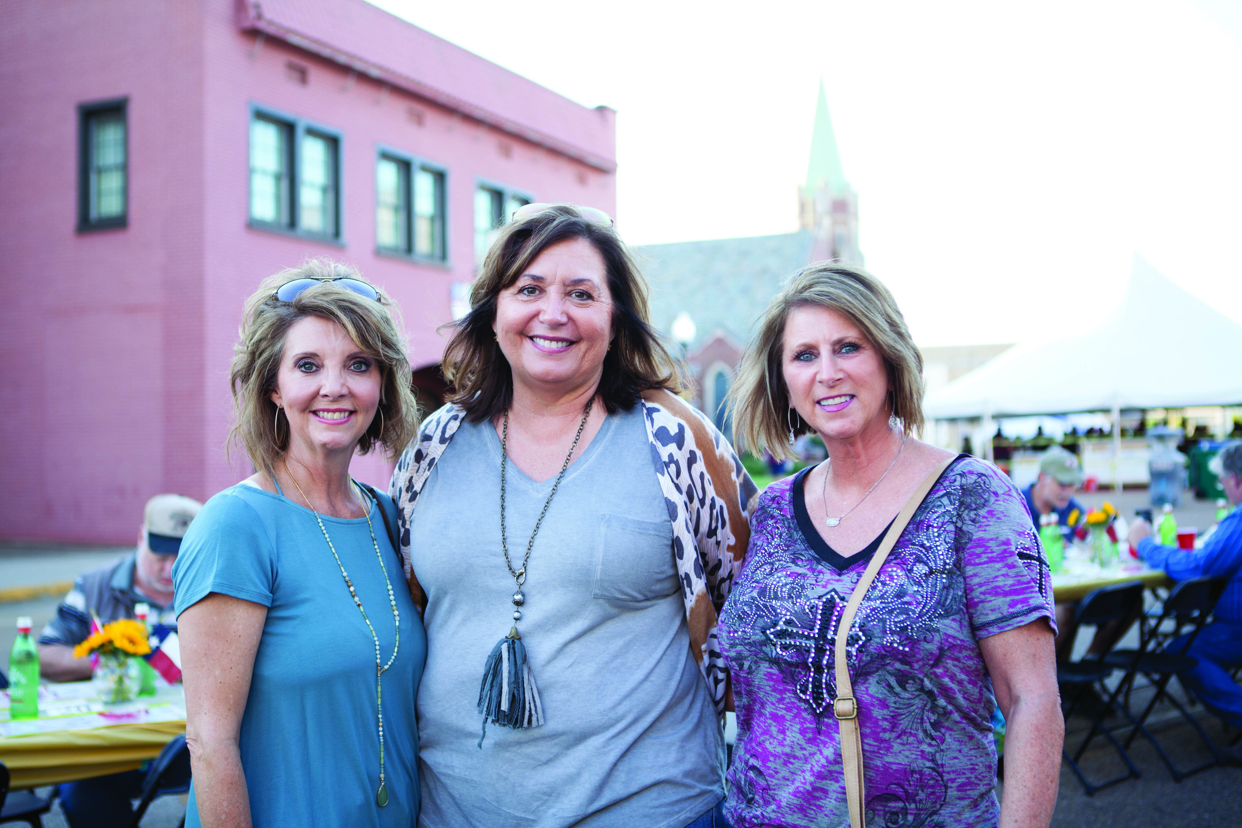 Lisa McPherson, Angie Huff and Denise Ludlow