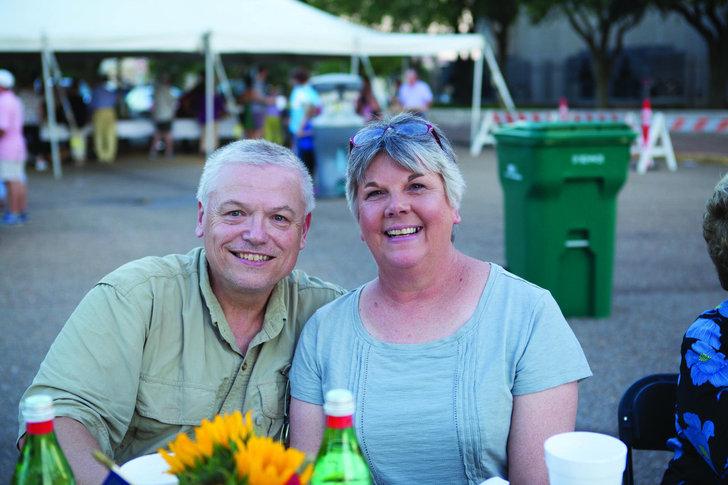 Robert and Lorna Tyson