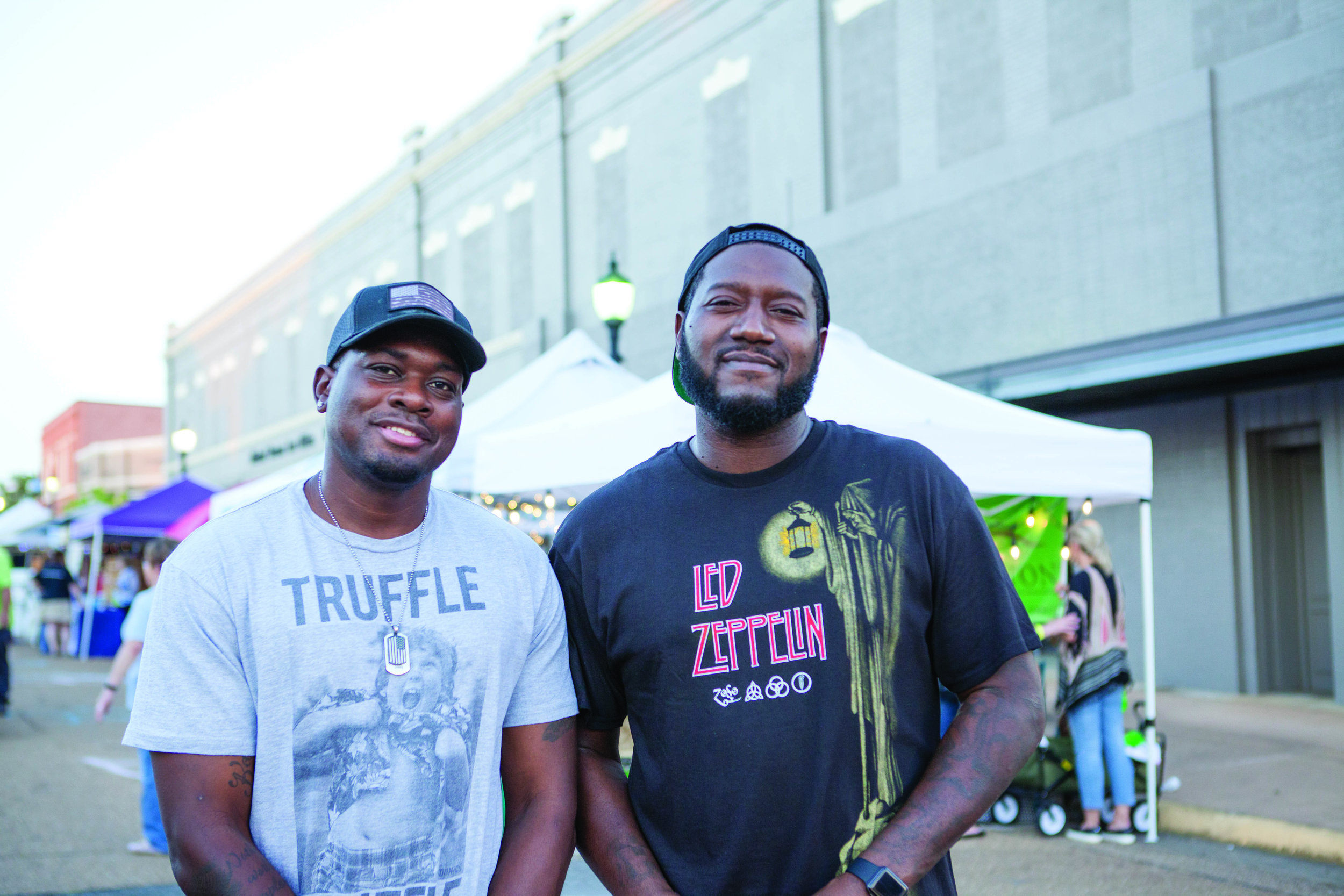 Marcus Wills and Lonnie Thompson