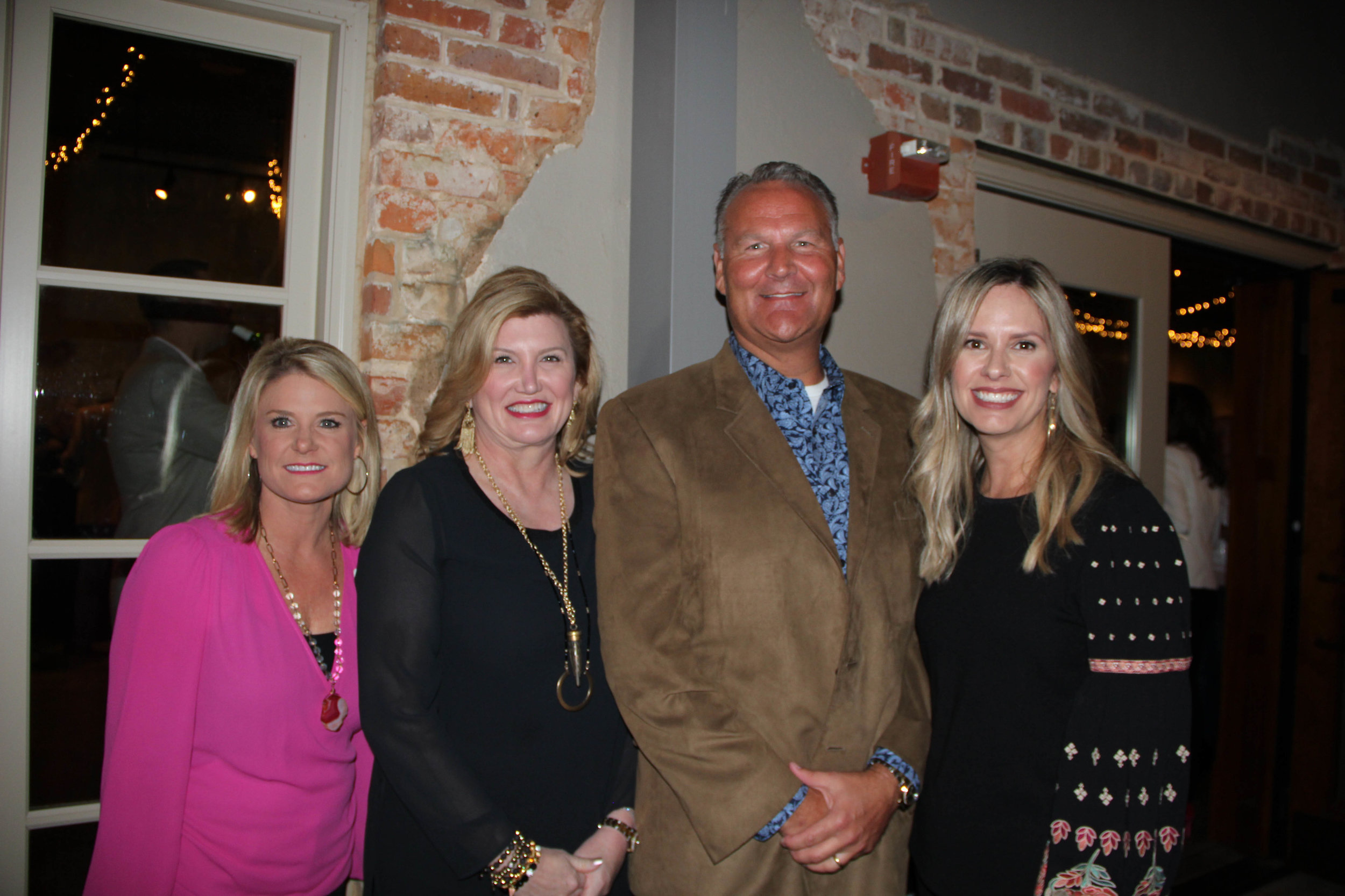 Mendy Warner, Cindy and Dr. Matt Young and Brooke Marshall