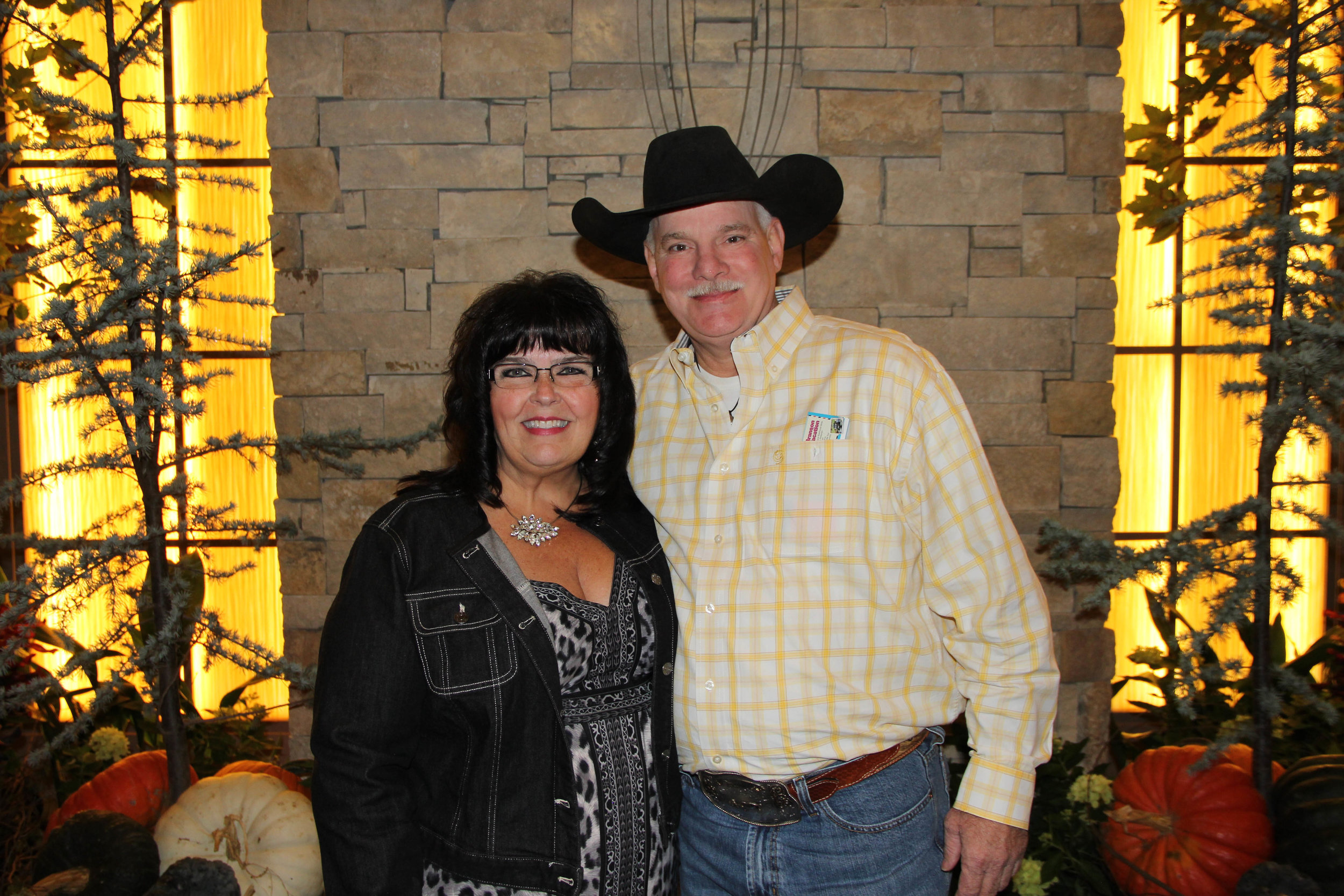 Dr. Cindy Porter and Mike Barr