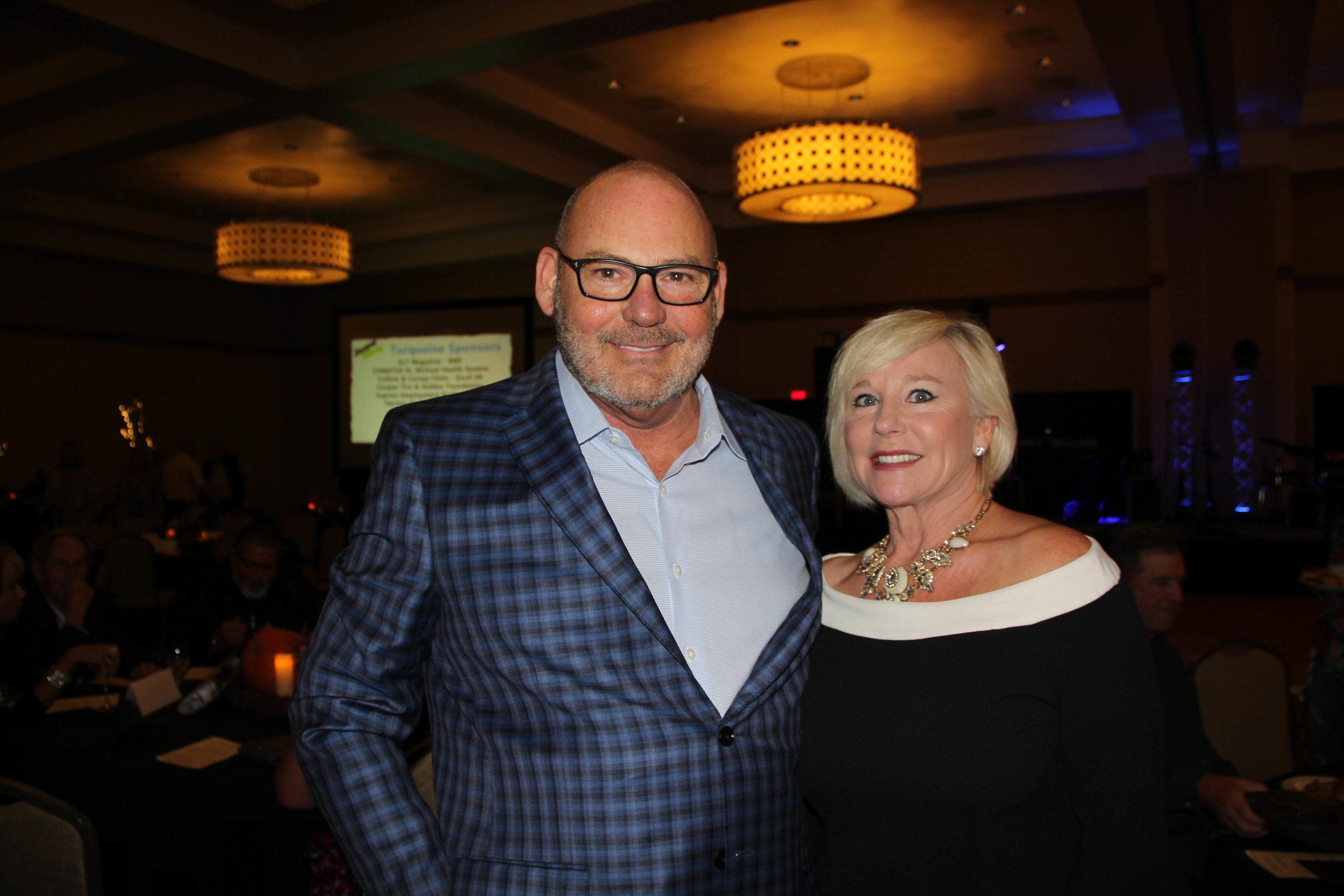 Richard Reynolds and Pam Hollingsworth