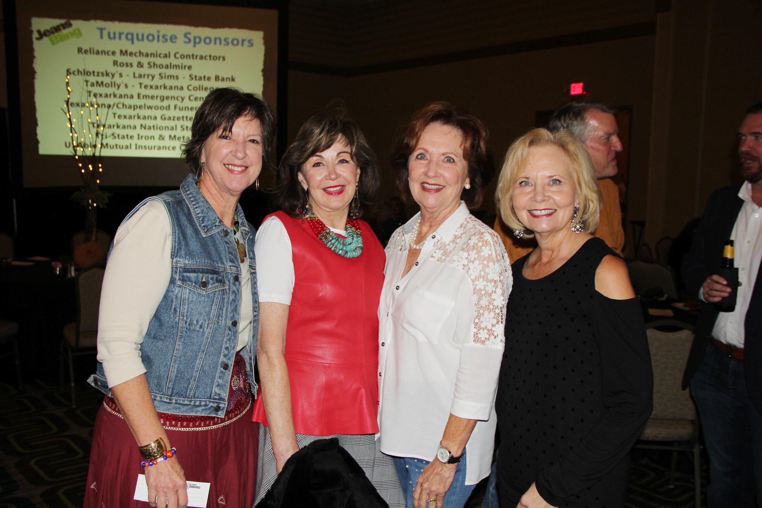 Gail Eichler, Judy Morgan, FaEllen Yates and Rhonda Allen