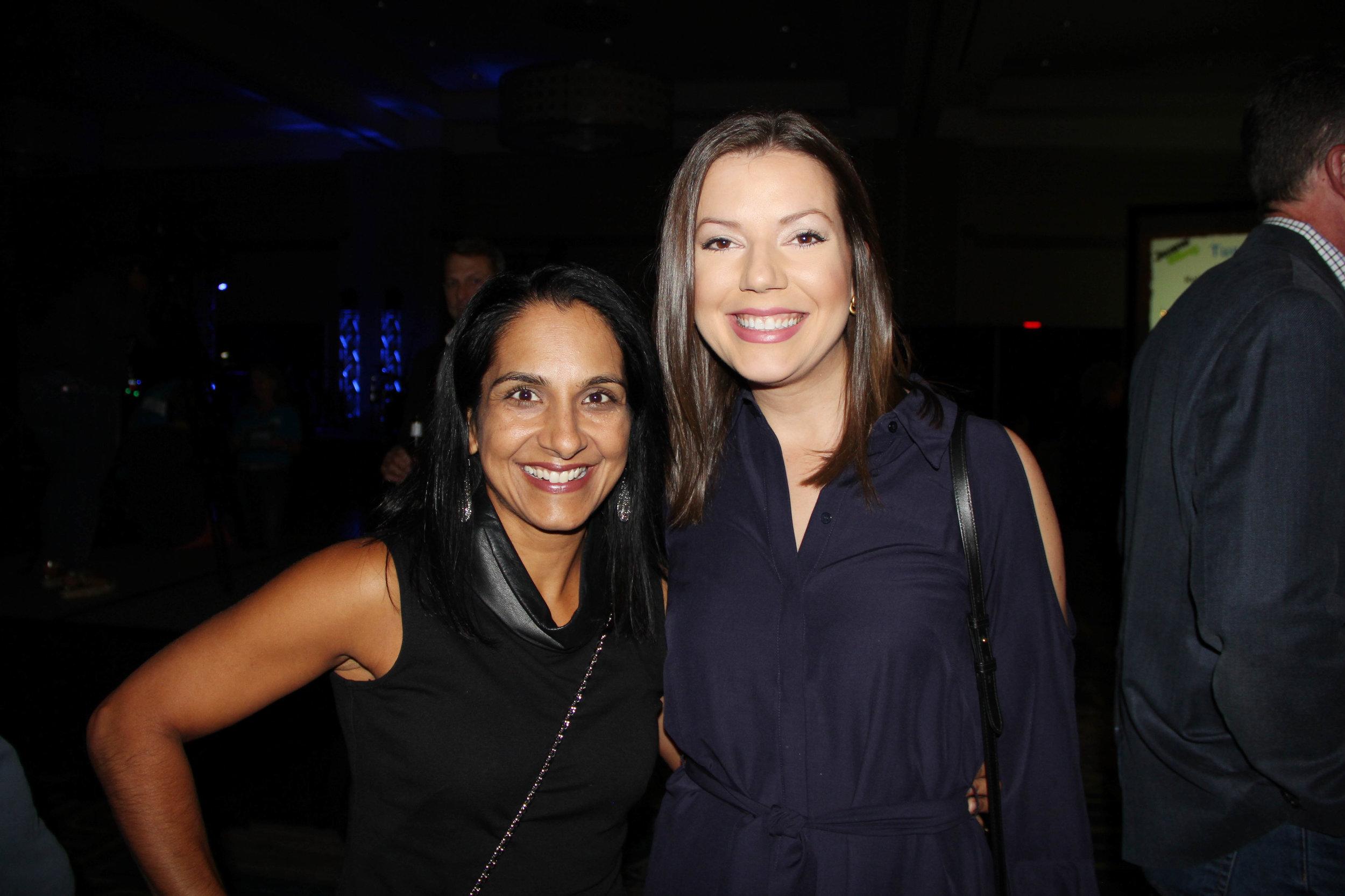 Anitha Kurichety and Rachael Potter