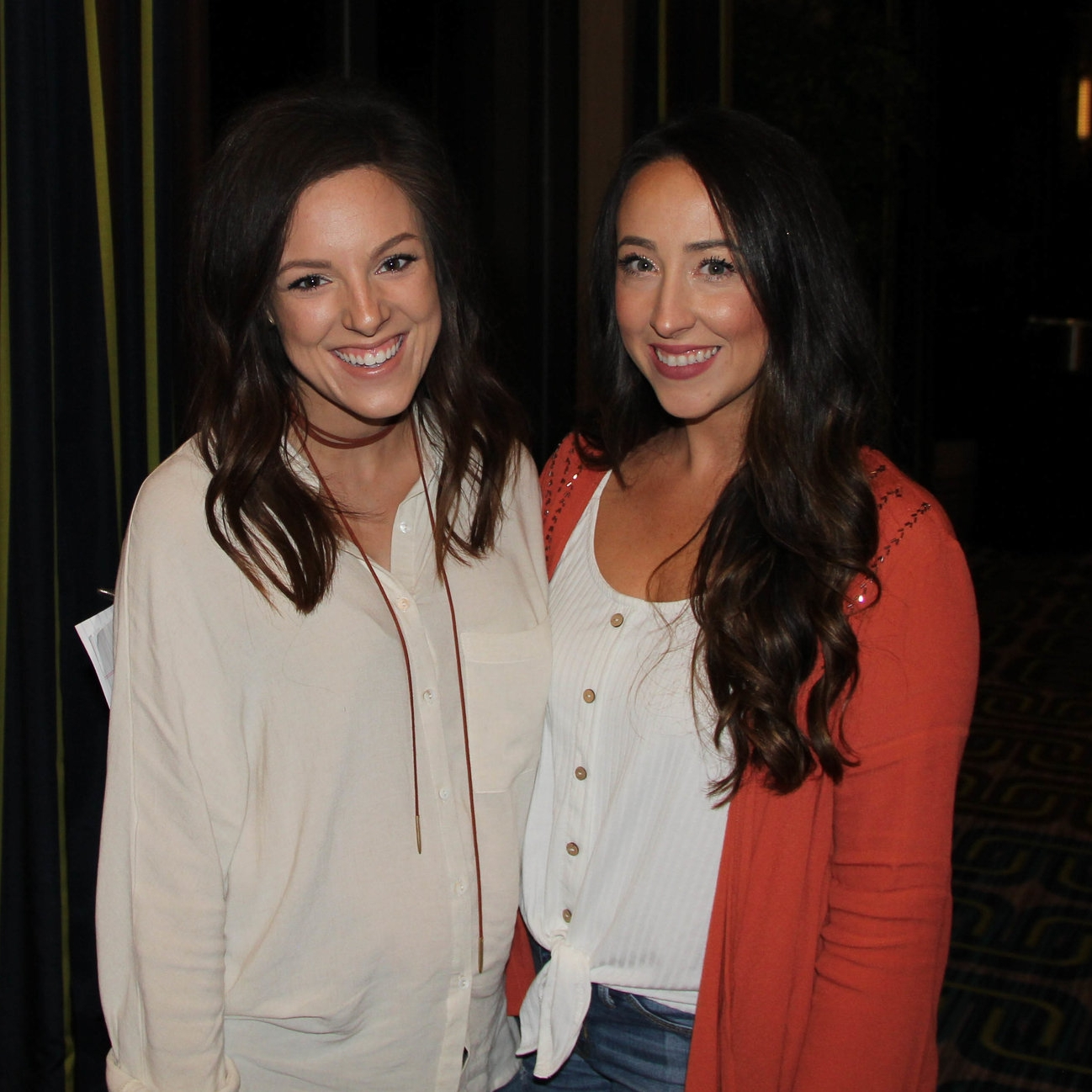 Brittany Brooks and Whitney Brooks