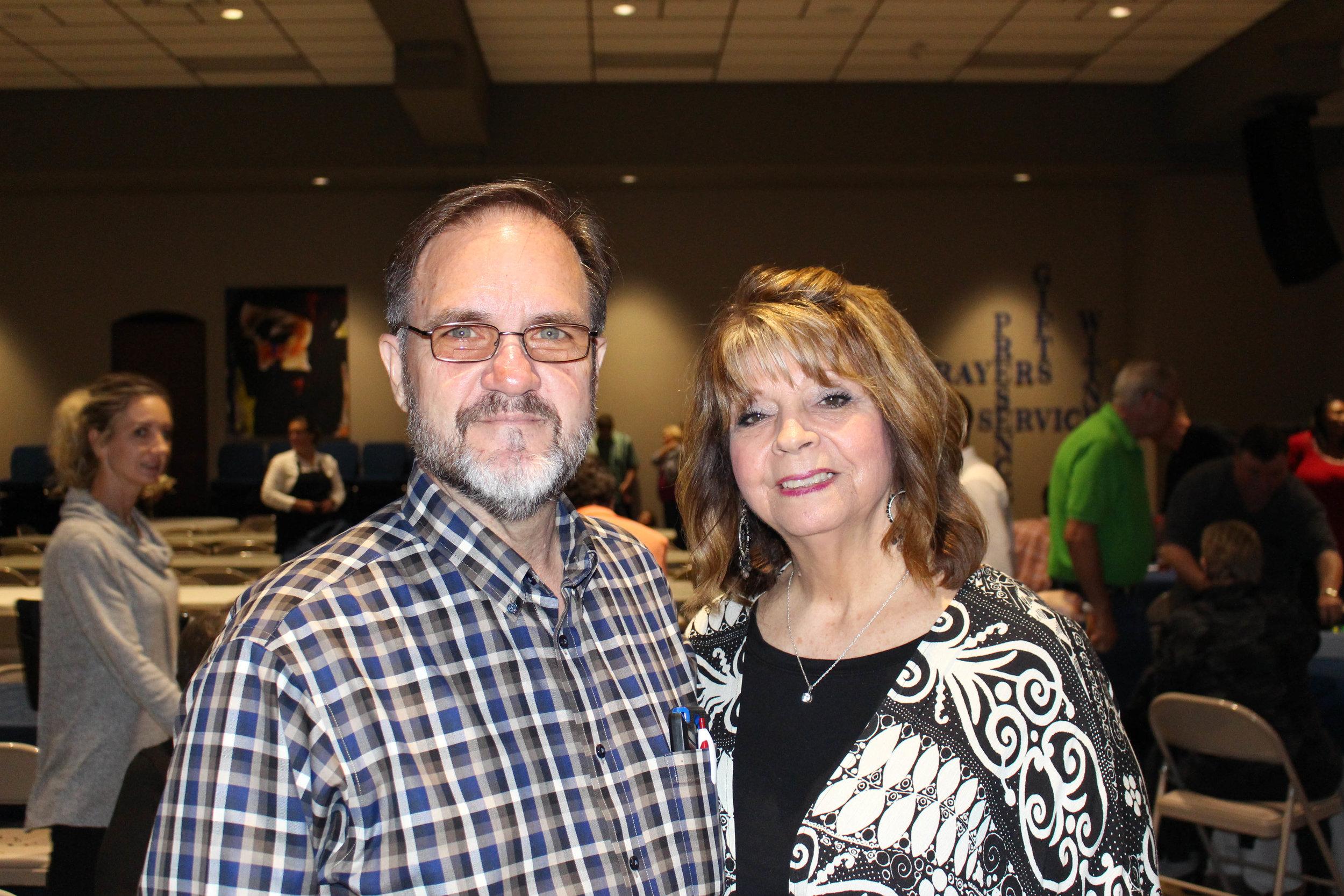 Robert and Jayne Cooper