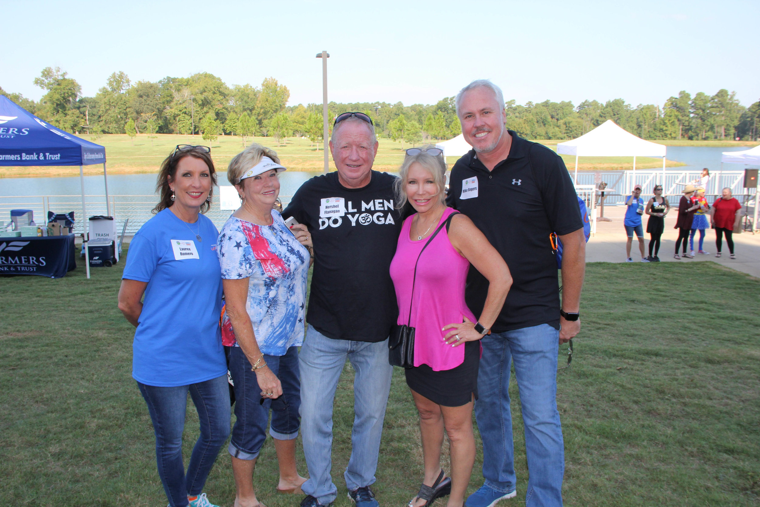 Lauree Romero, Elaine and Hershel Flanagan and Jeanna and Mike Rogers