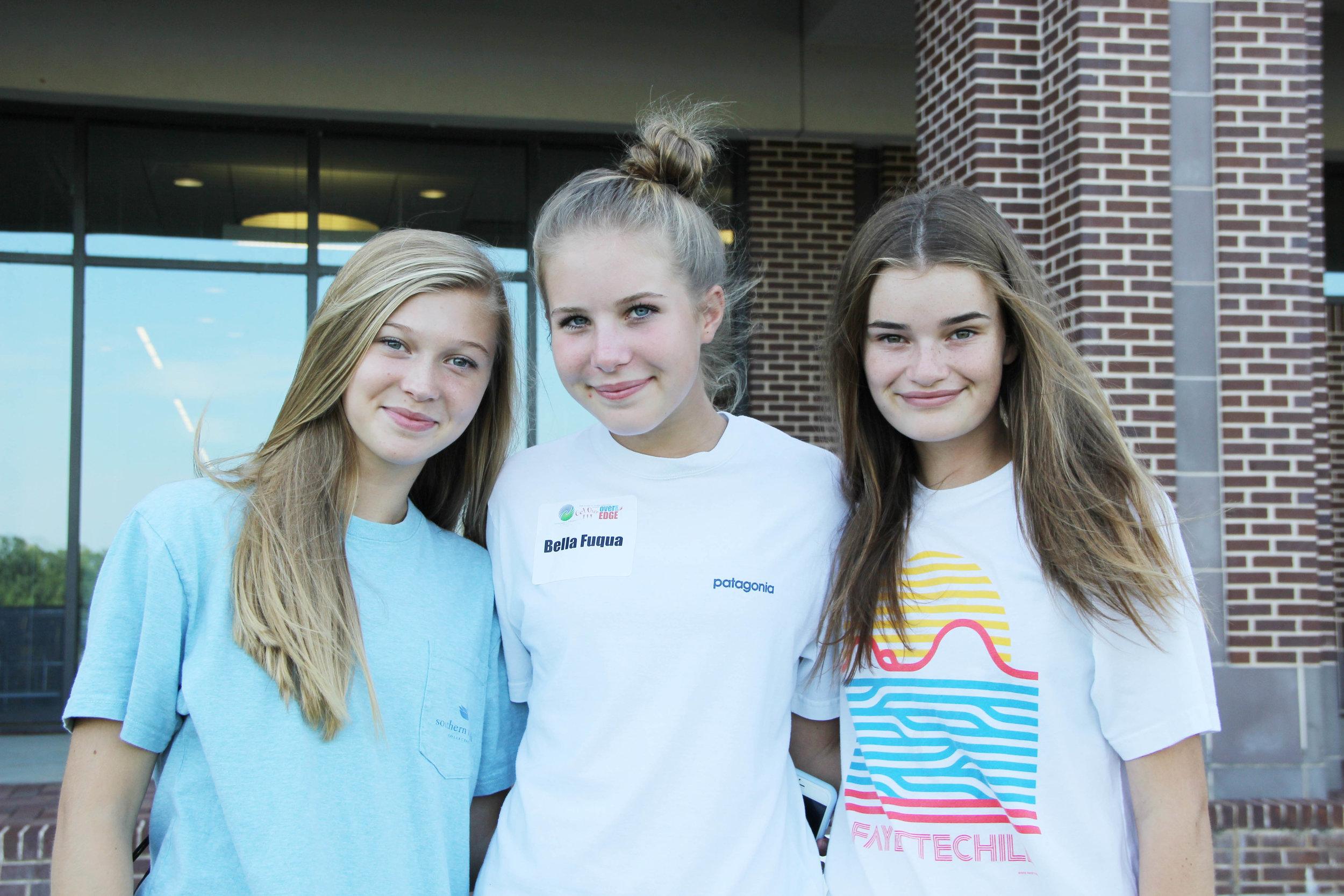Bella Murdock, Bella Fuqua and Lydia Lee