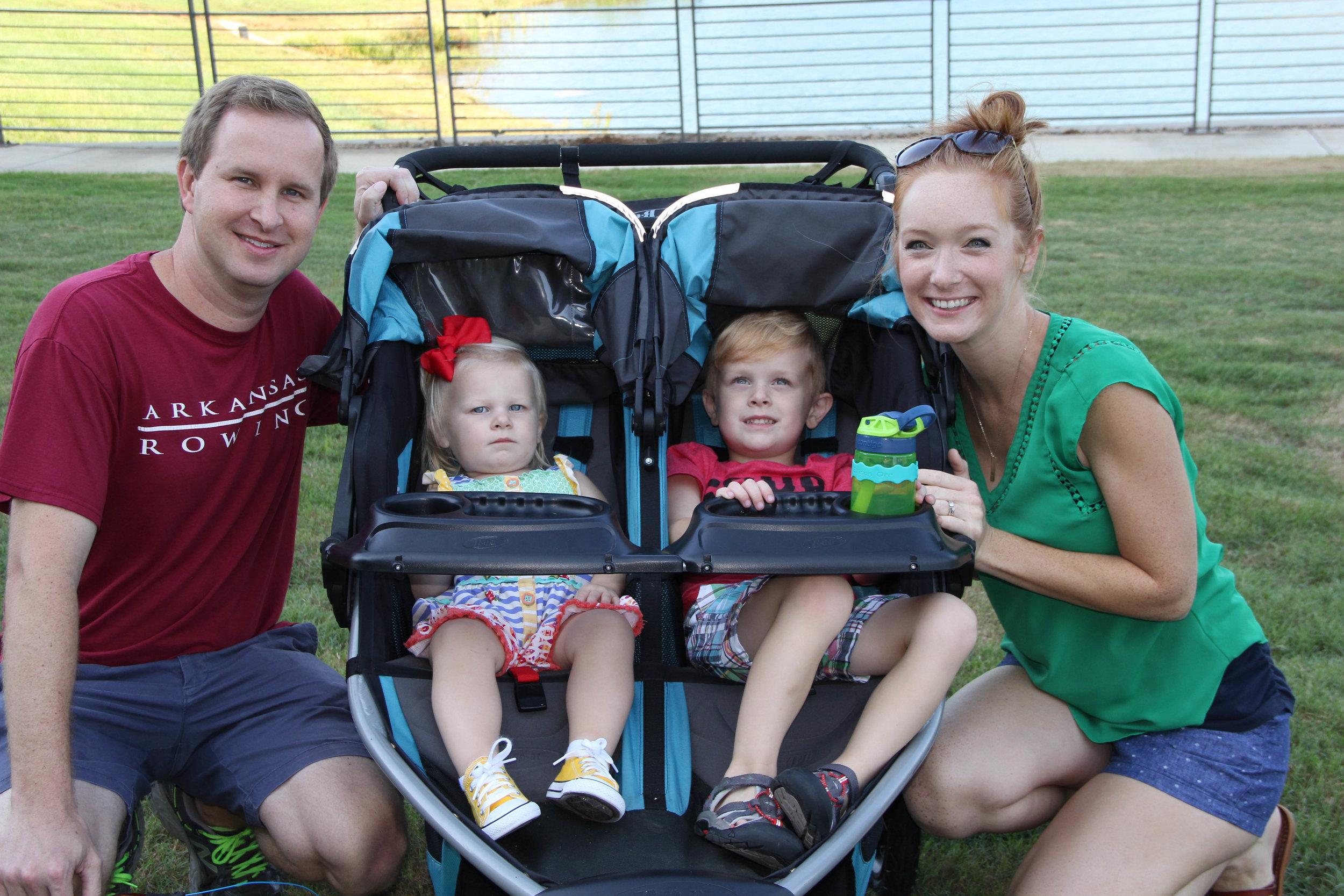 David, Ollie, Ellison, and Laura Orr