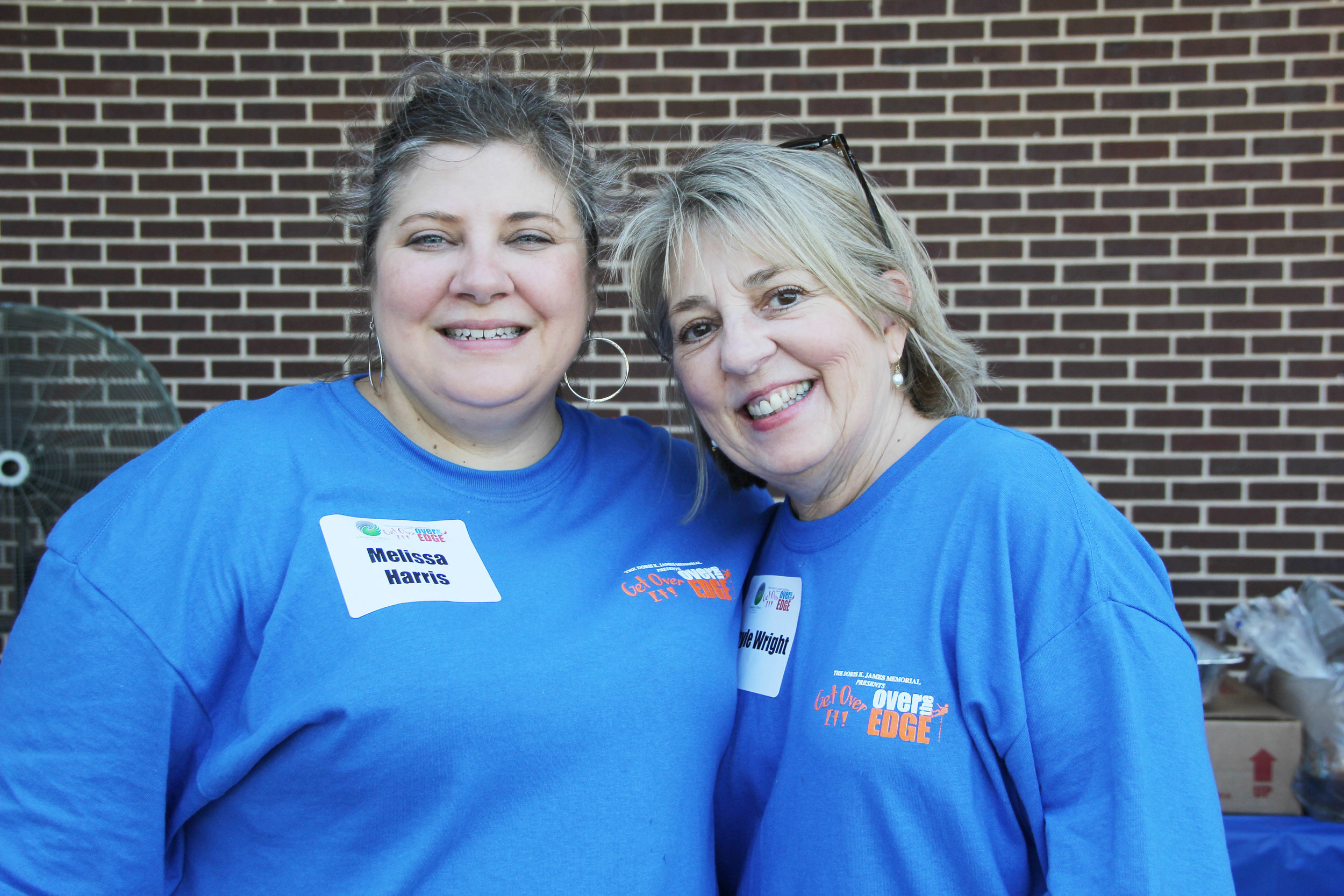 Melissa Harris and Gayle Wright