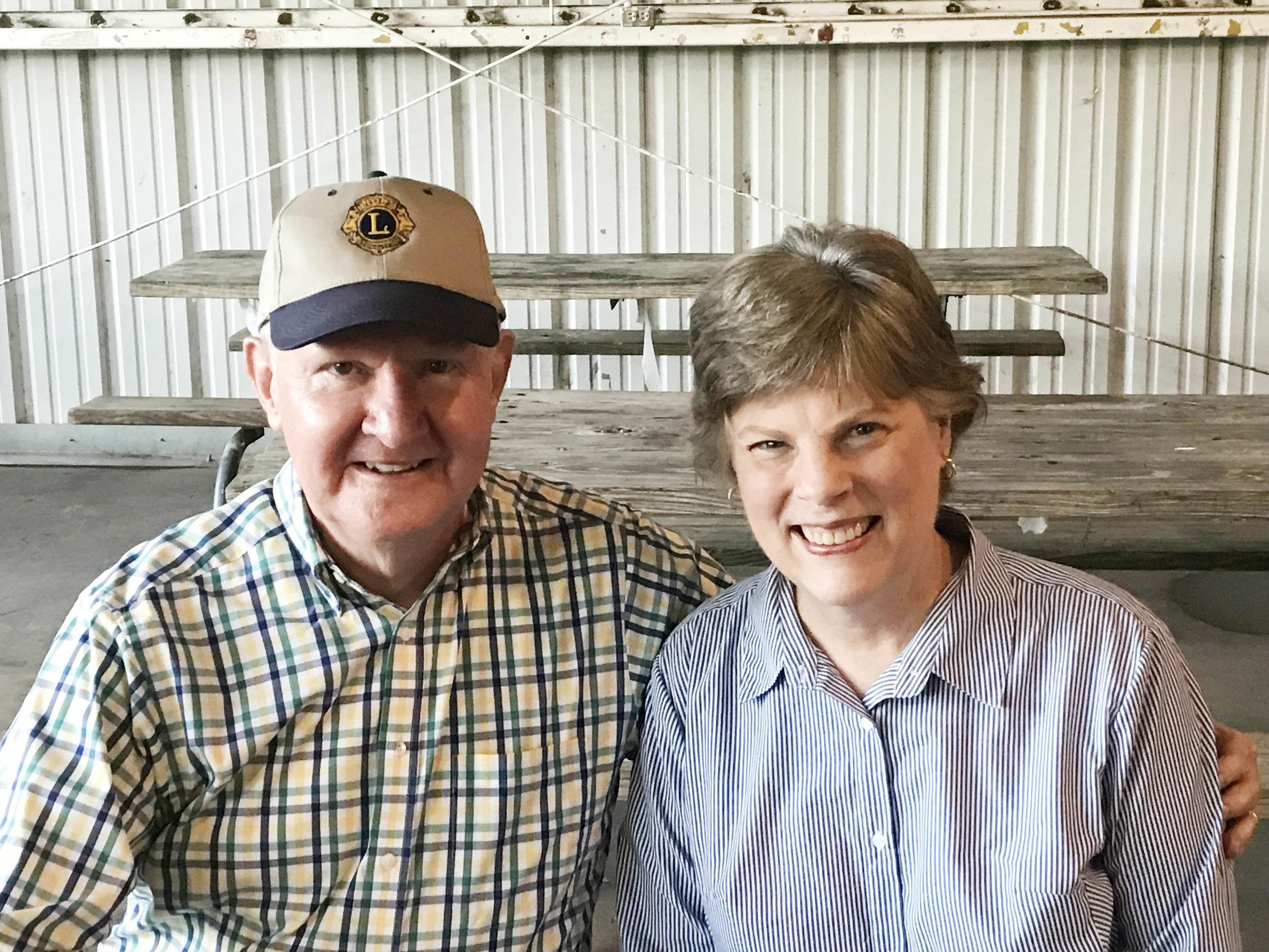 Dr. Tom and Brenda Burns