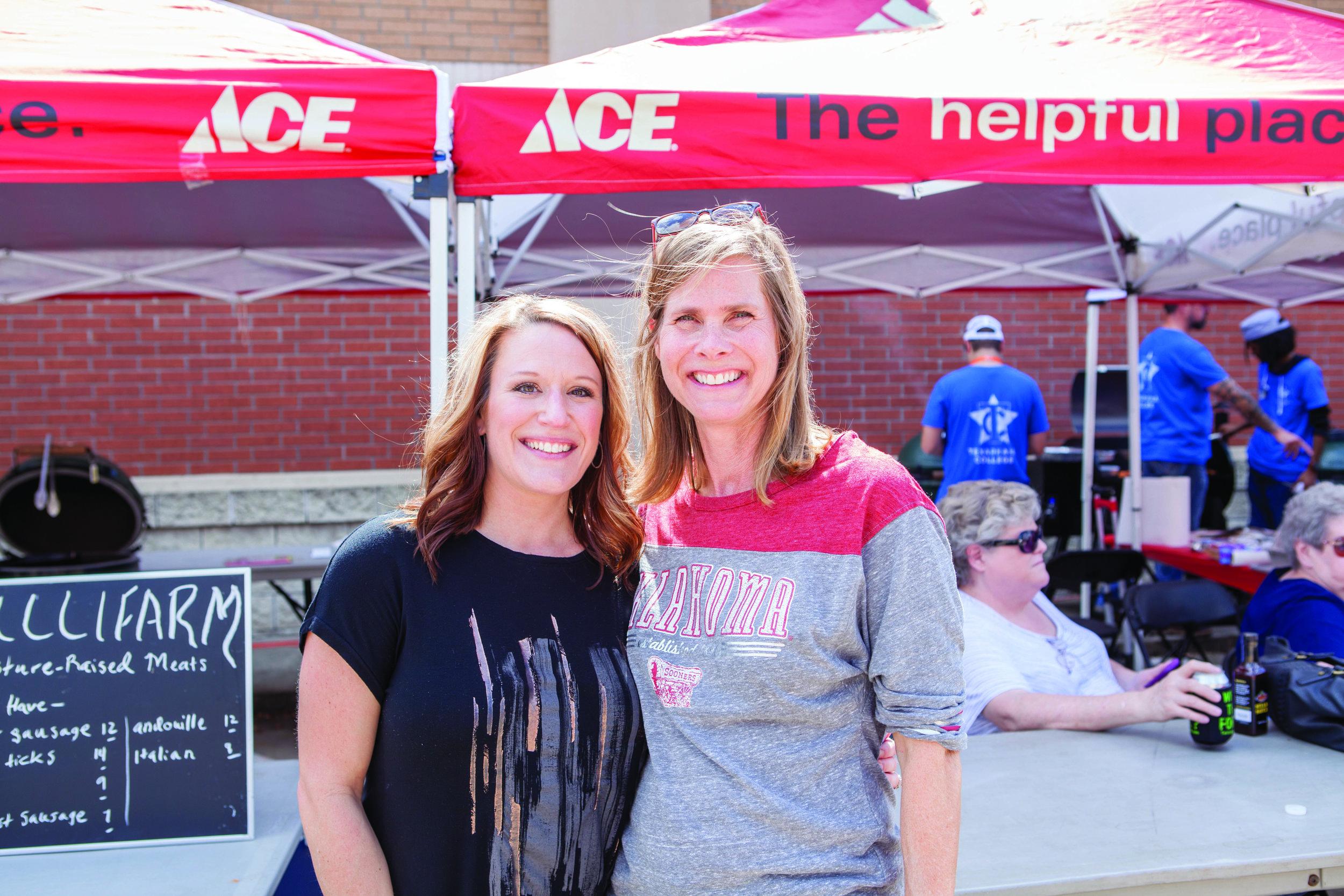 Missy Davison and Karen Cannon