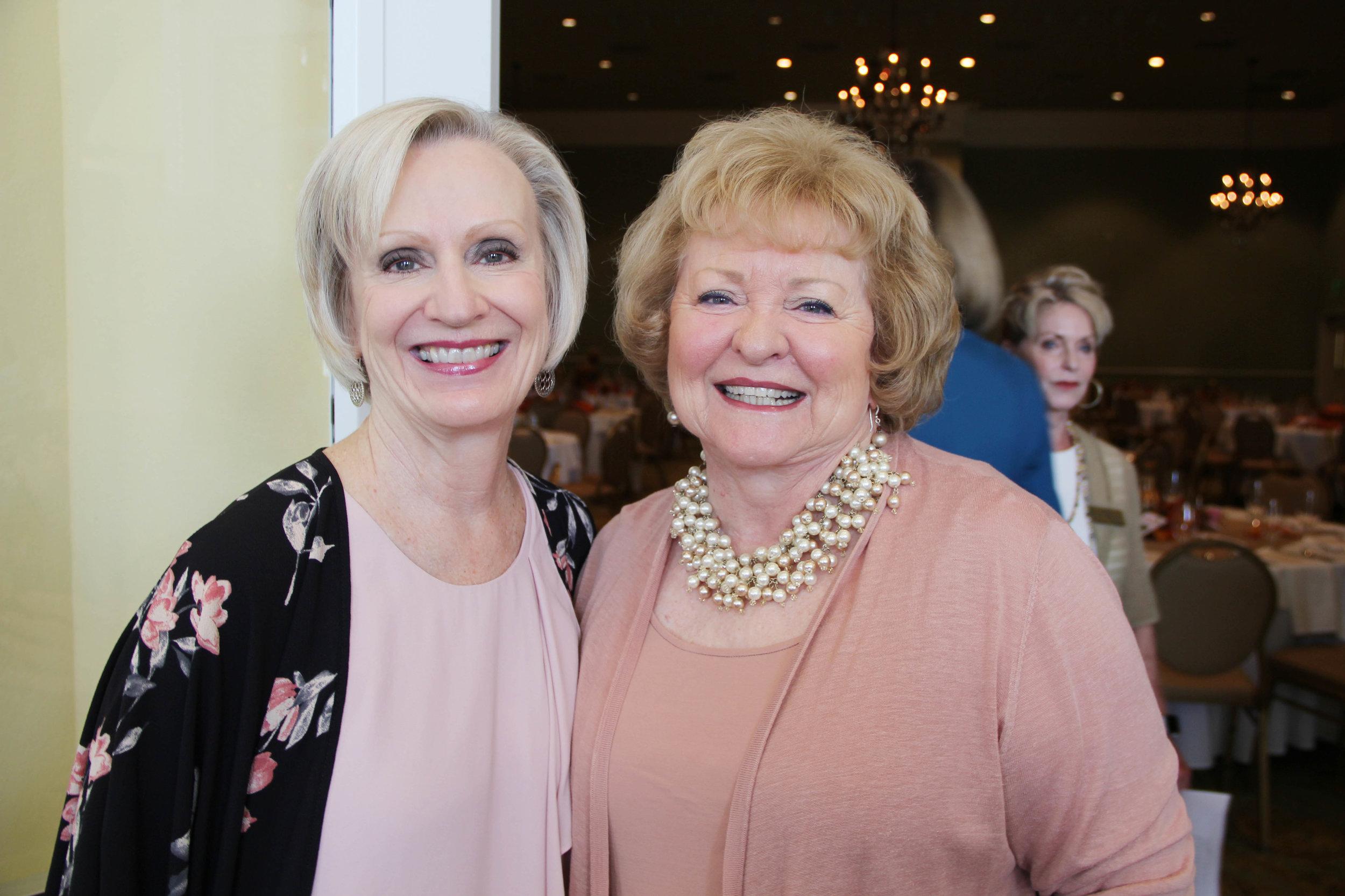 Patsy Morriss and Joan Carter