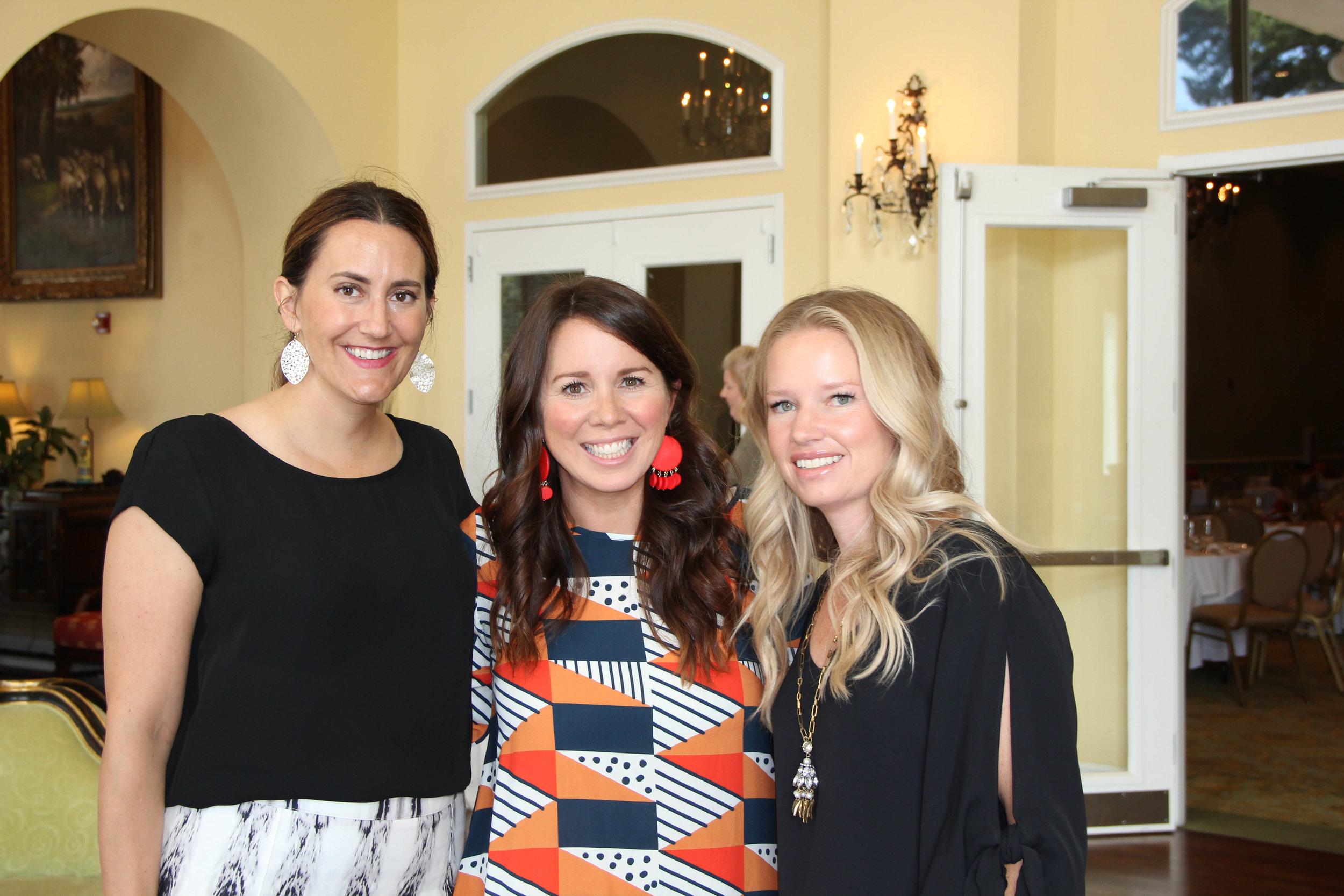 Jordan Miller, Ashley Gibbs and Jill Flanagan