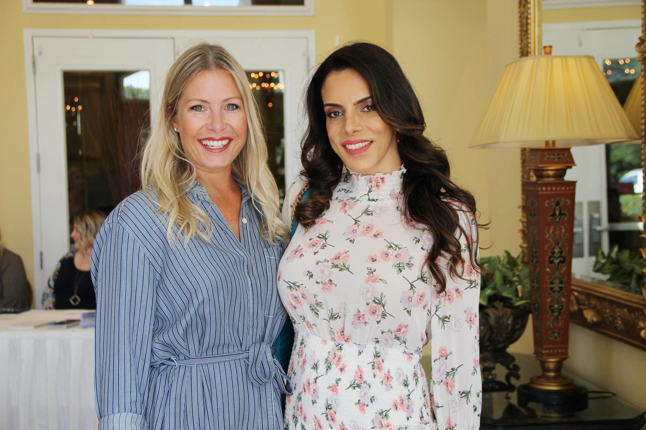 Whitney Fuqua and Layla Hazin