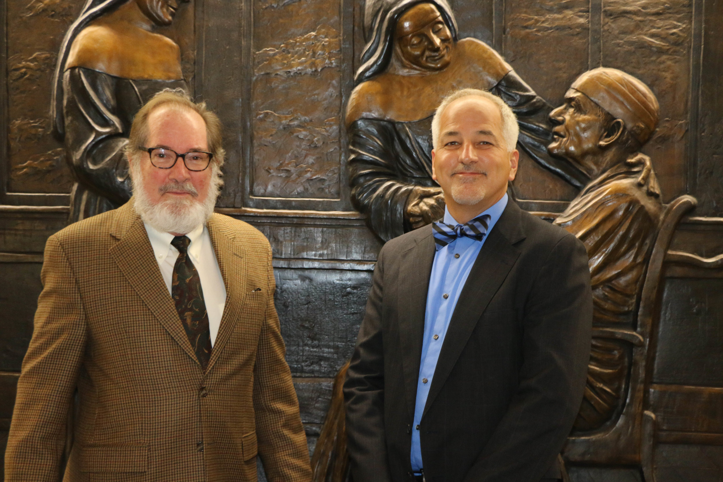 Dr. Tom Cutrer and Dr. Del Doughty
