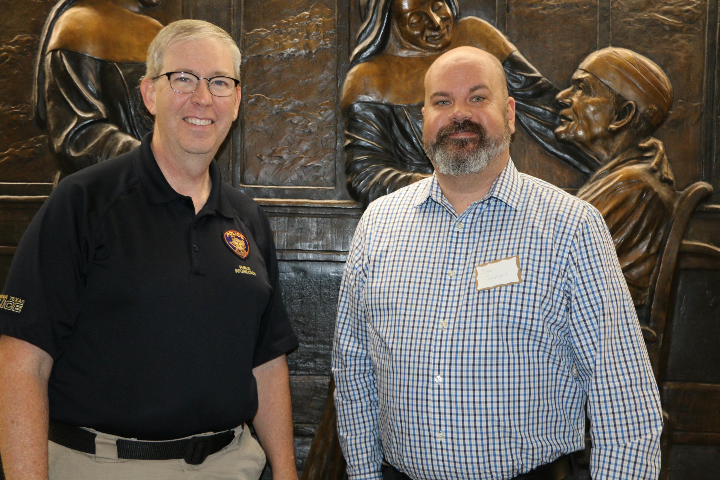 Shawn Vaughn and Dr. Sean Summers