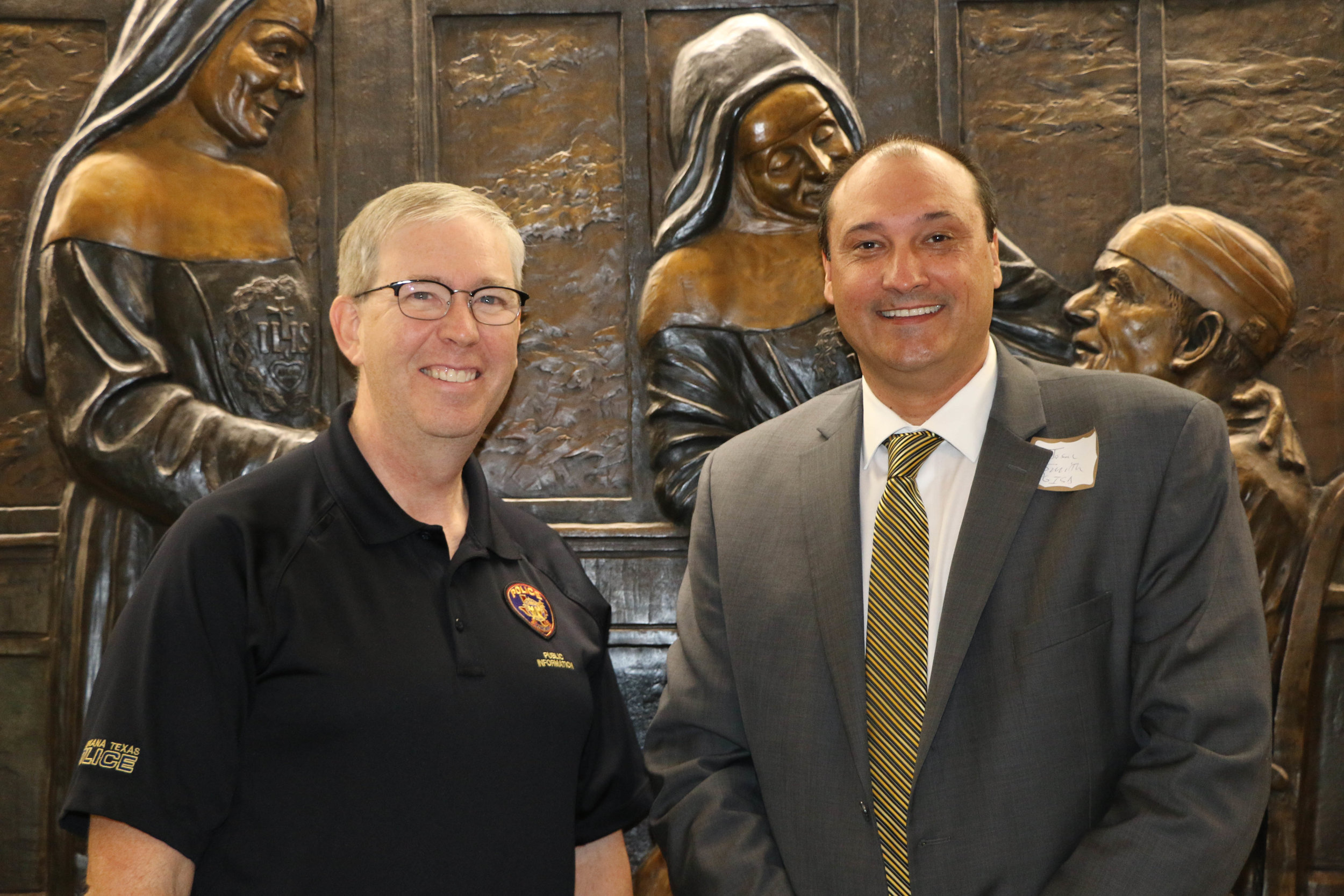 Shawn Vaughn and Dr. Jason Smith