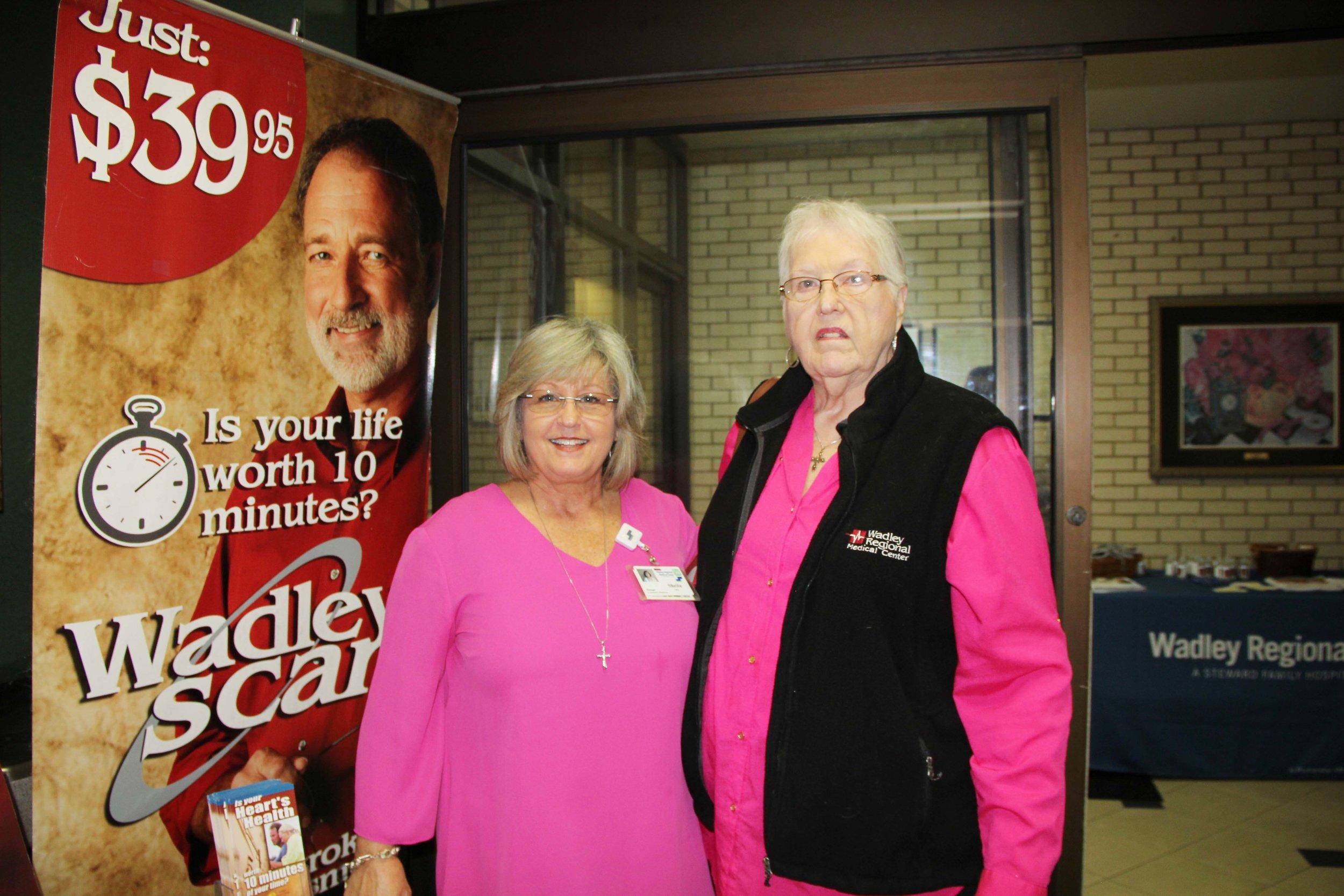 Sheila Key and Carol Stoner