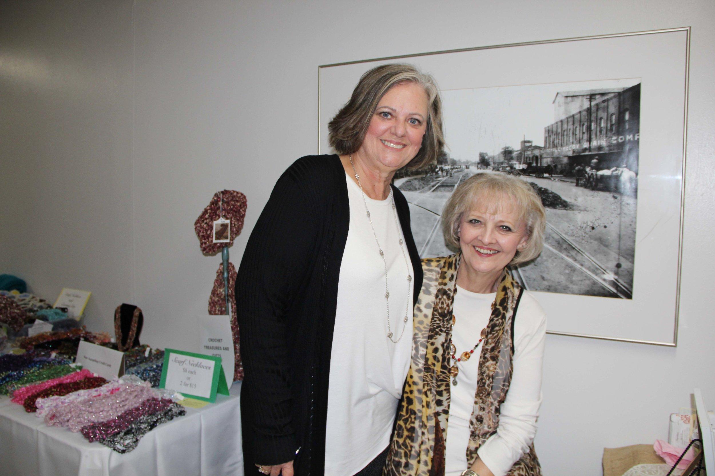 Pam Lindsey and Peggy Whisenhunt