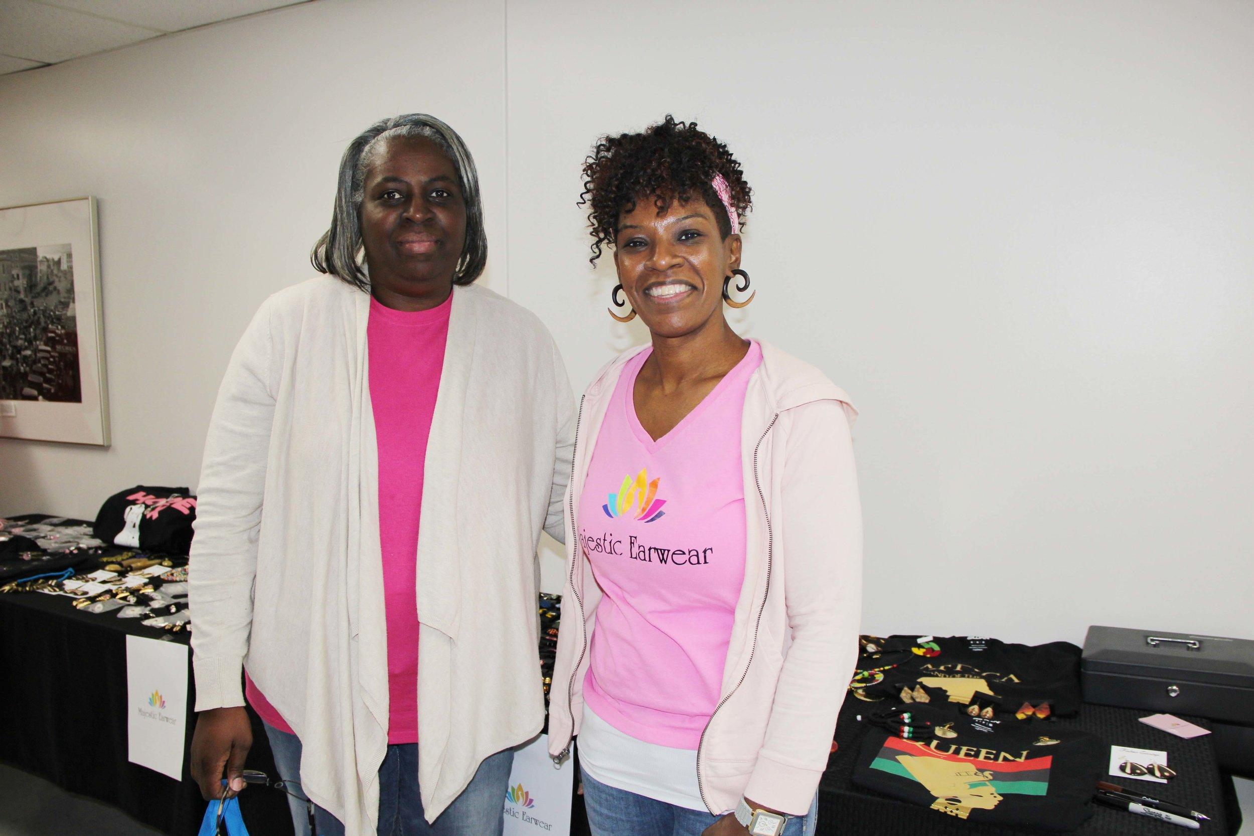 Ann Wilkerson and Marla Jones