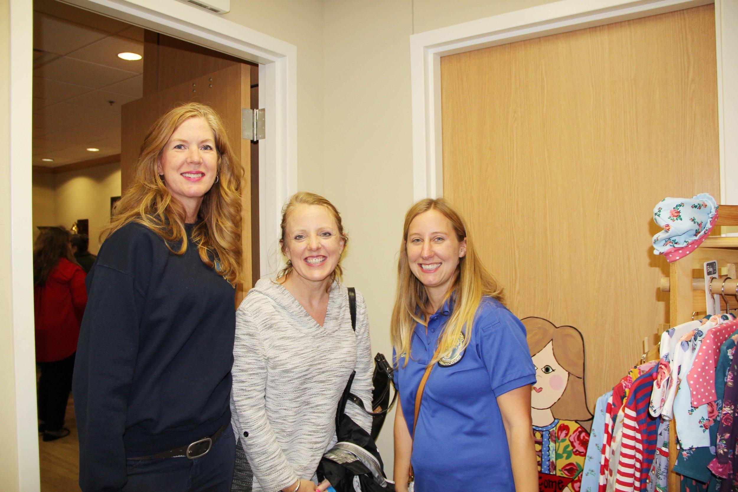 Tracey Litton, Christine Bevers and Jennifer Jones
