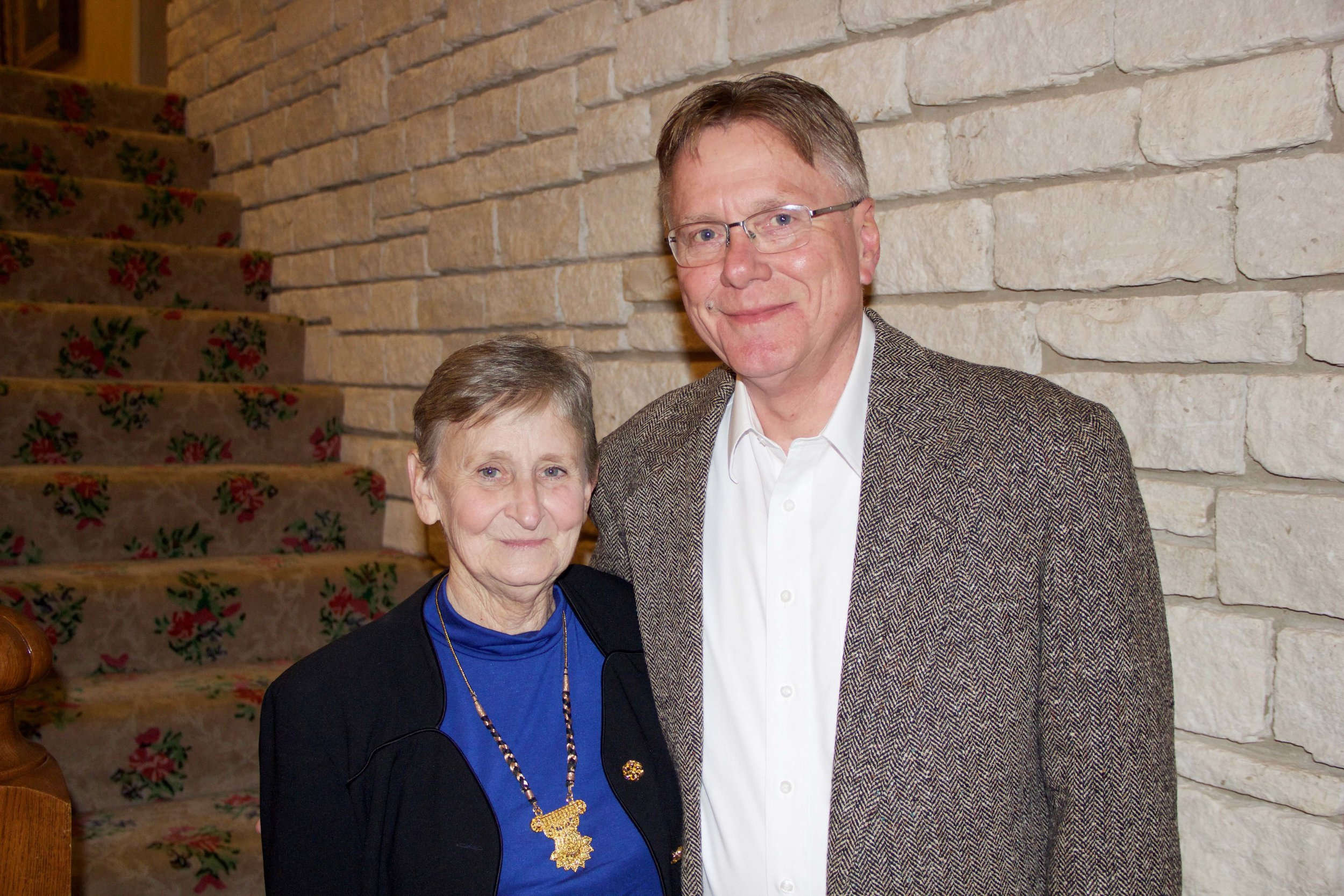 Pat and Dr. Tom Wagy
