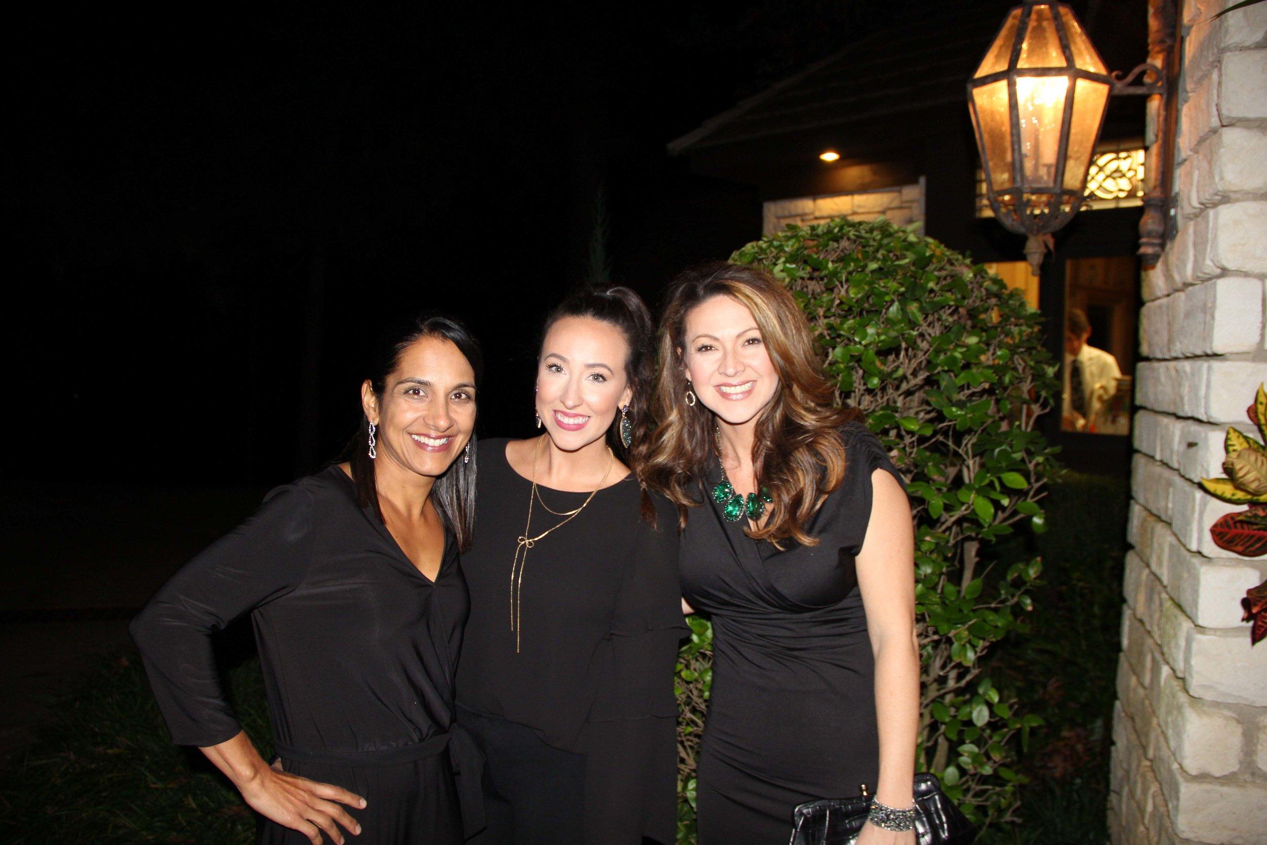 Anitha Kurichety, Whitney Brooks and Stacy Mayo