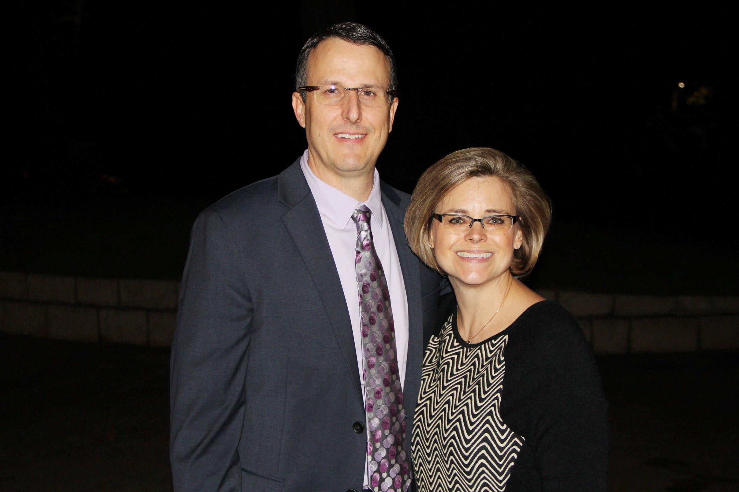 Dr. Jason and Sigrunn Yost
