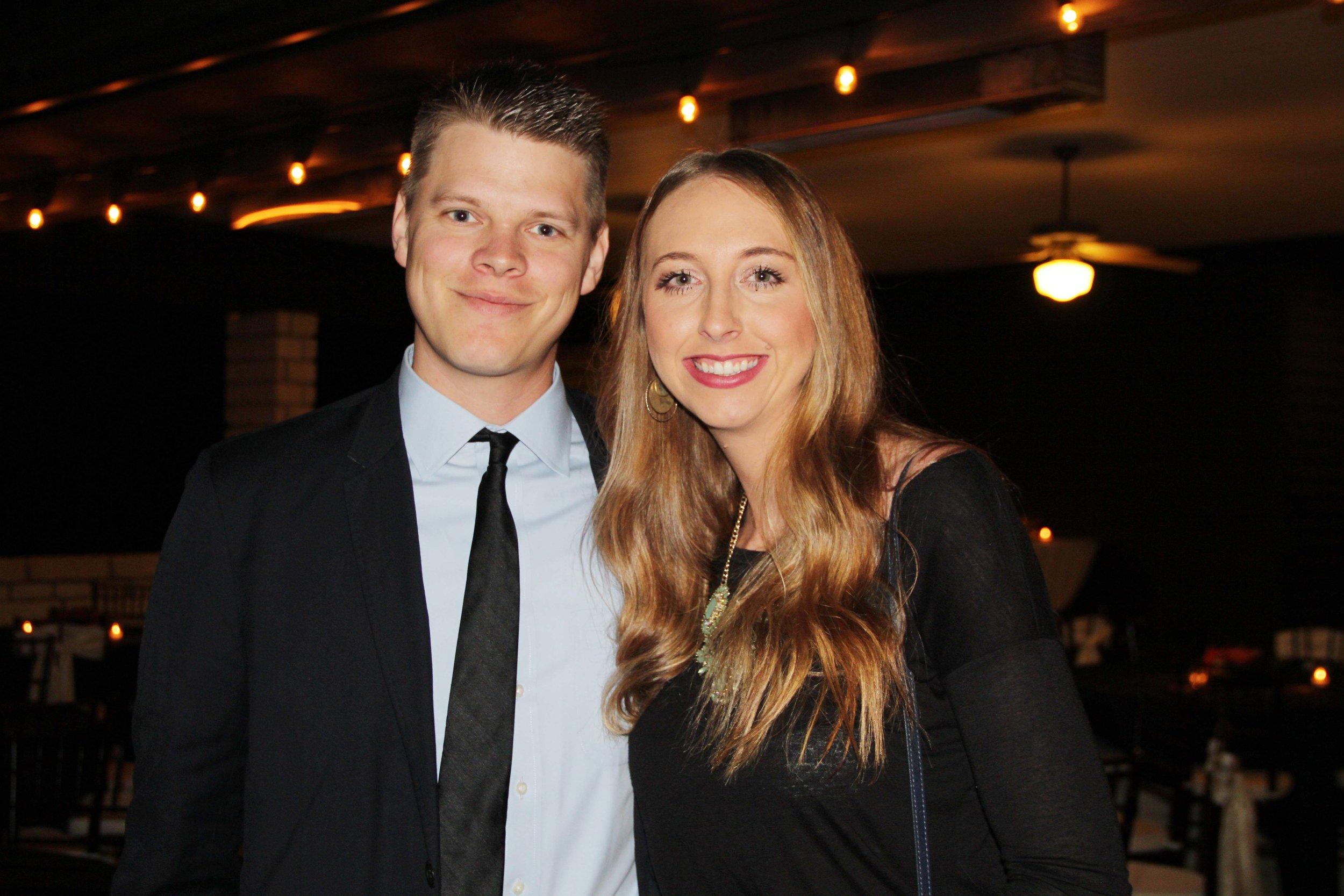 Tyler and Katelyn Gunter