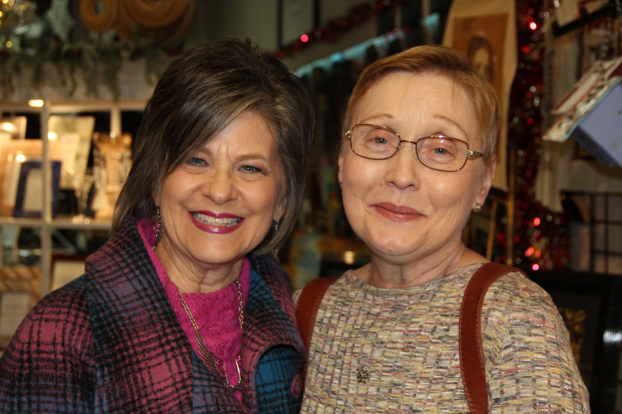 Debbie Liles and Karen Coulter
