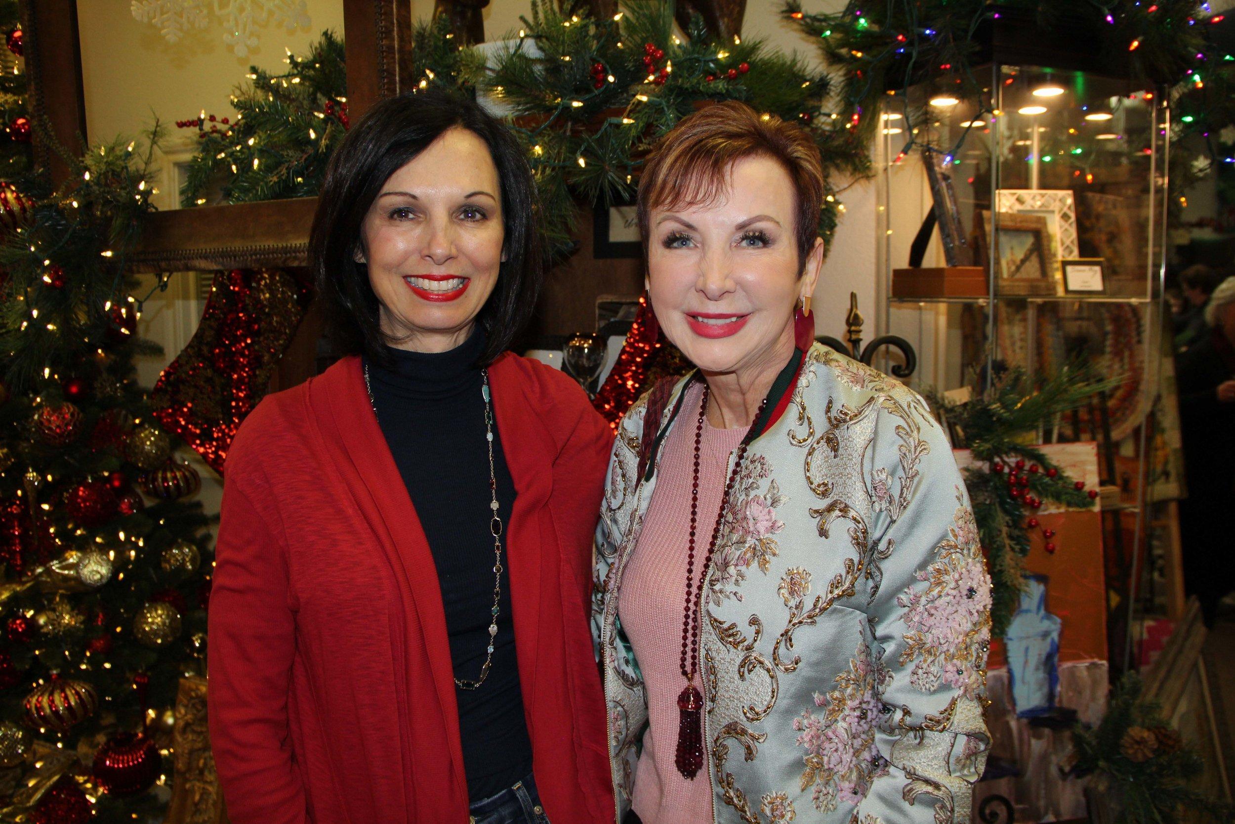 Melinda Vammen and Lena O'Dell