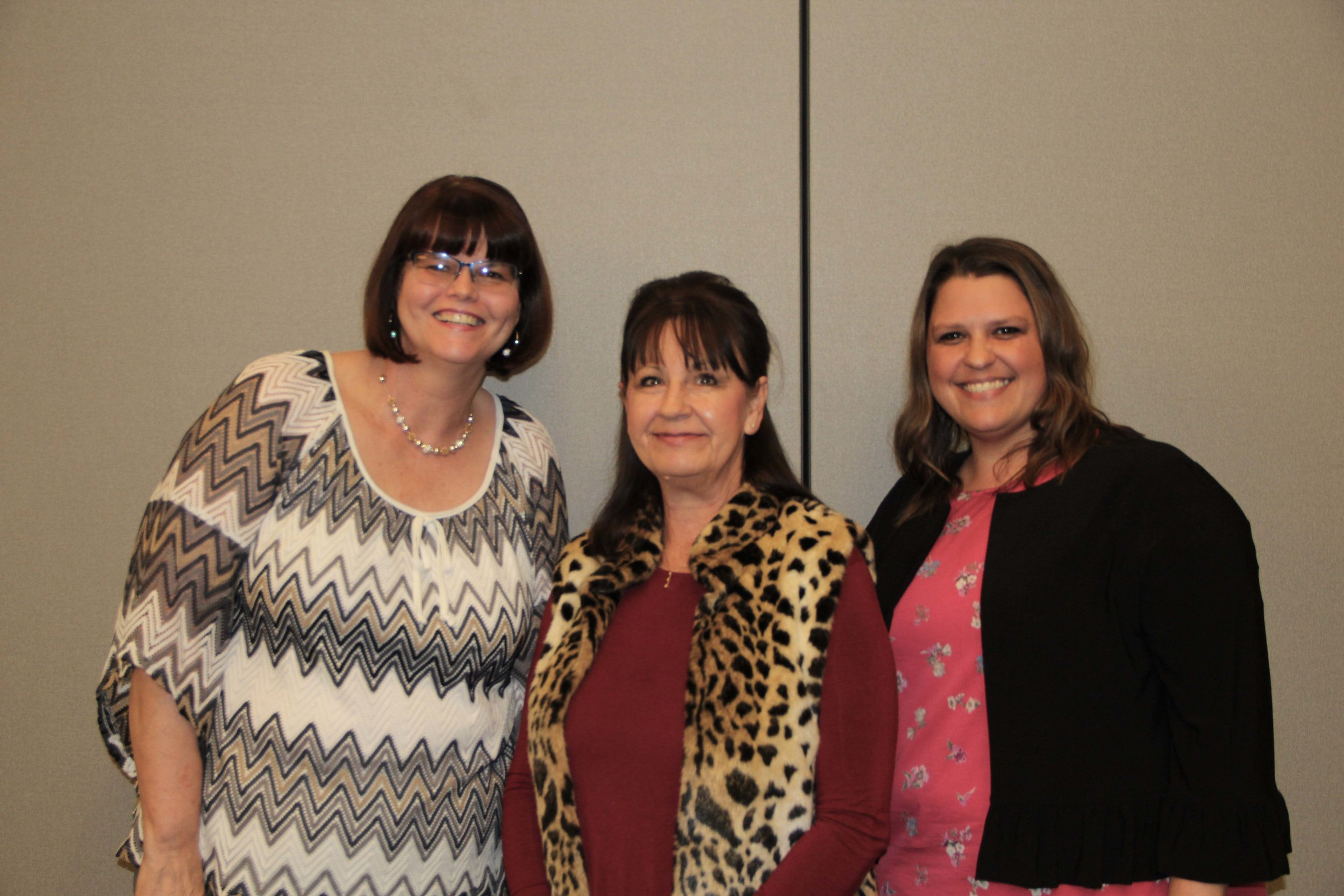 Tammy Danley, Kay Shirley and Lanette Holt