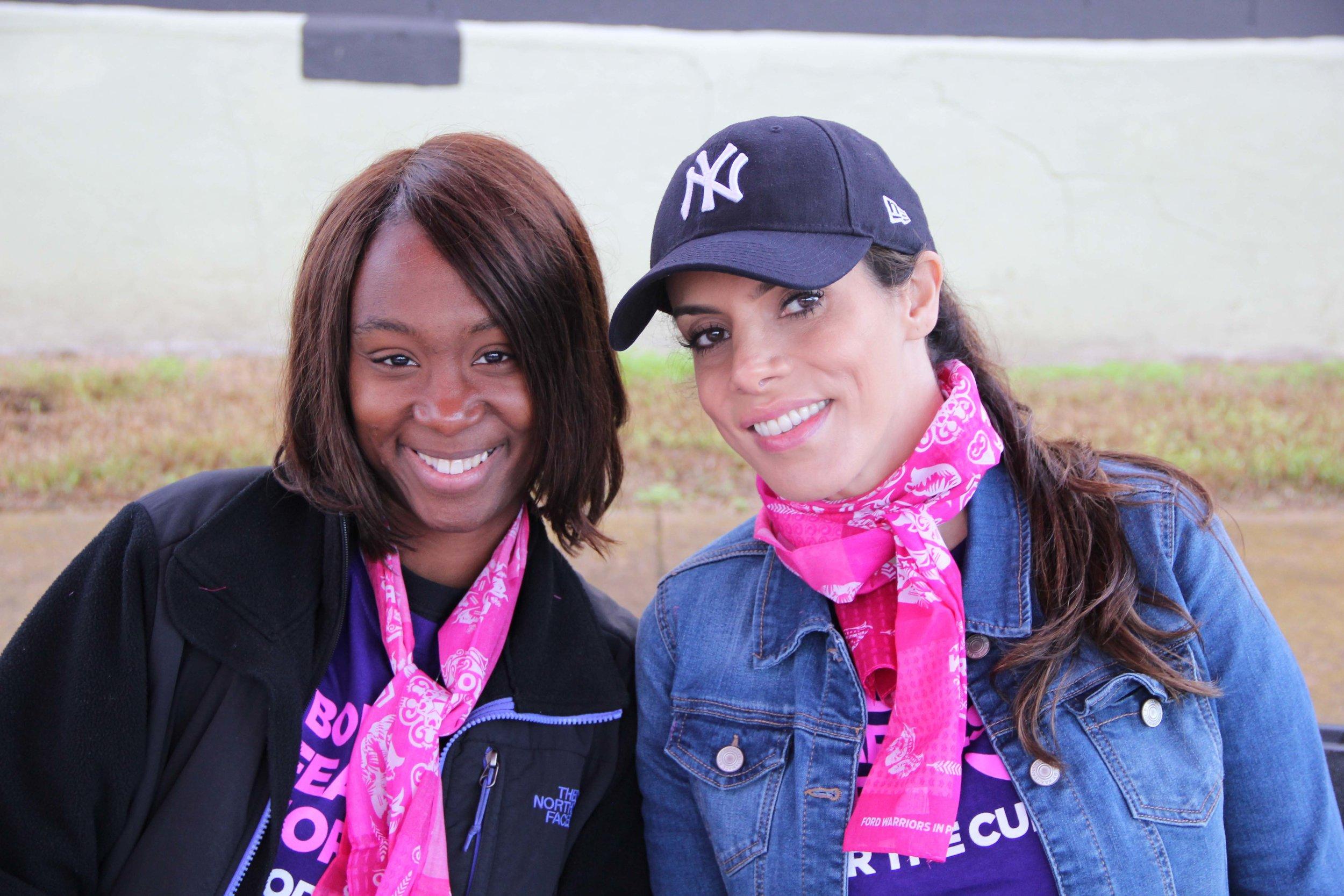 Lamoya Burks and Layla Hazin