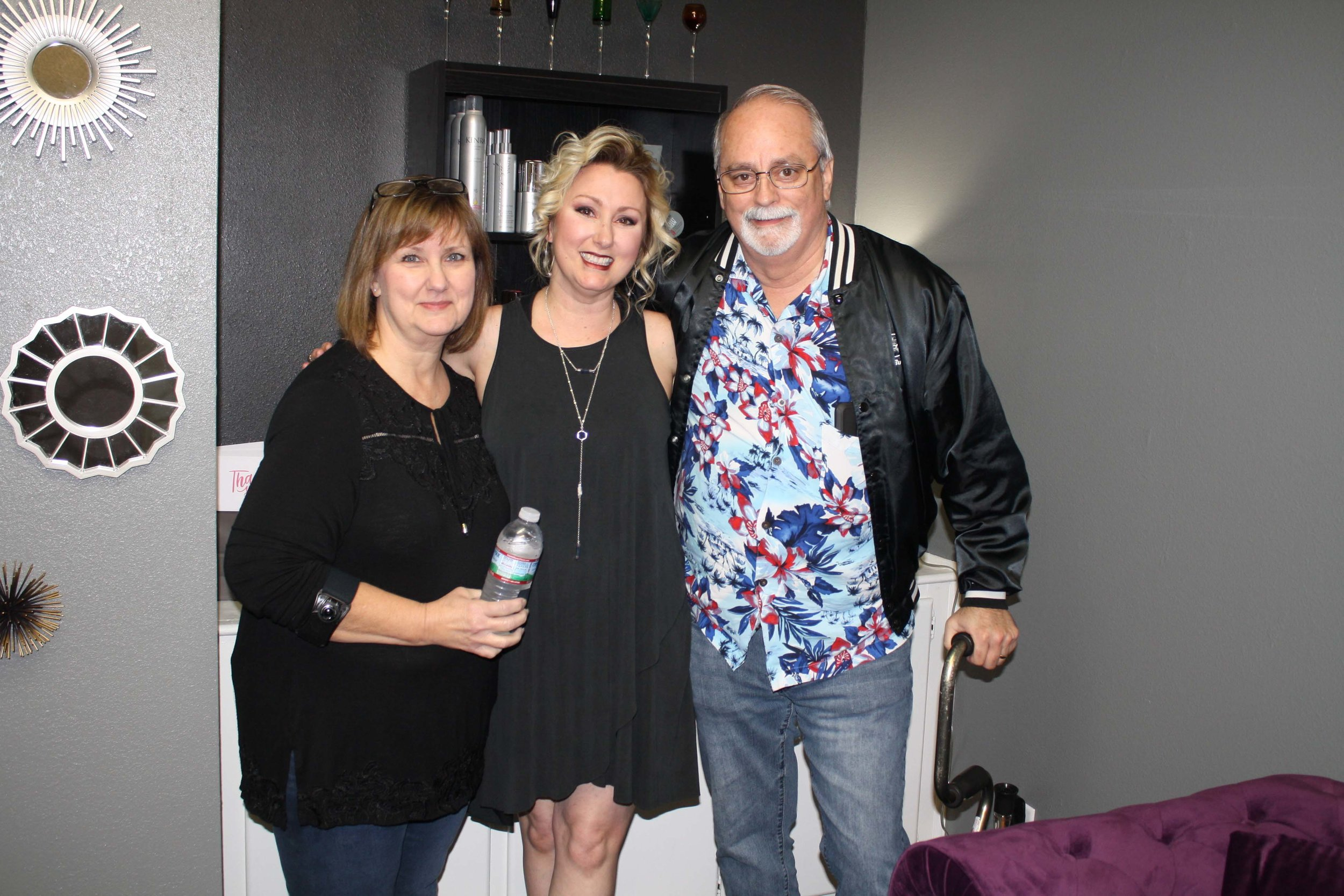 Laura Allen, Patty Lynn and Doug Allen