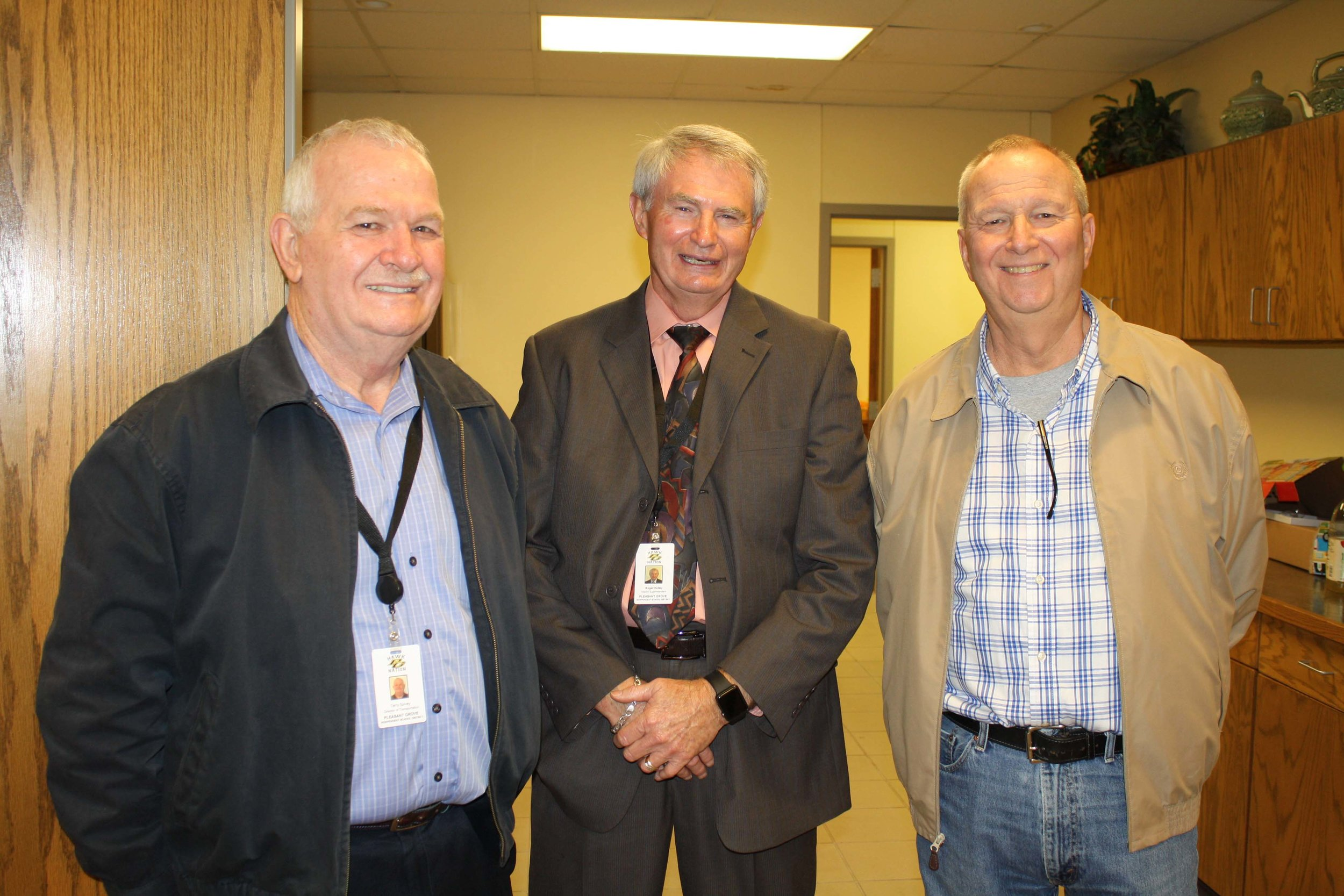 Terry Spivey, Roger Hailey and Mark Roberts