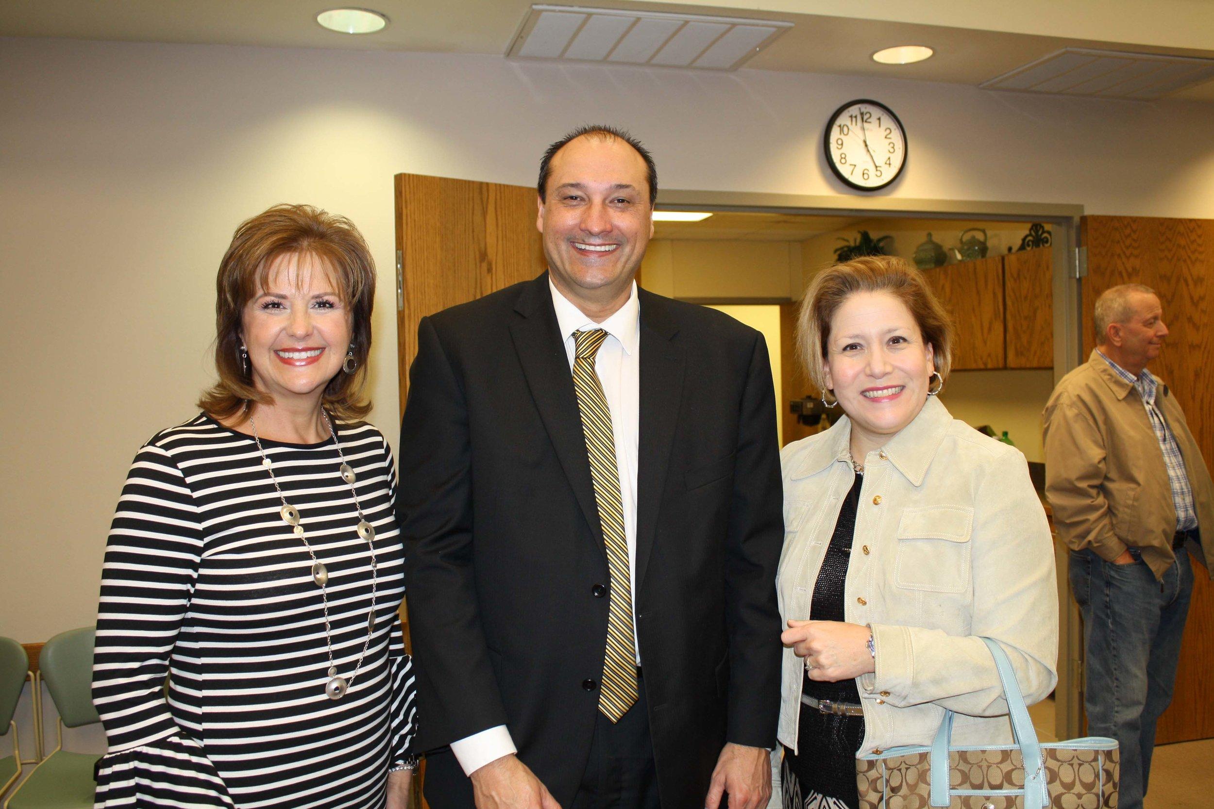 Patricia Beth, Dr. Jason Smith and Lindsey McMillan