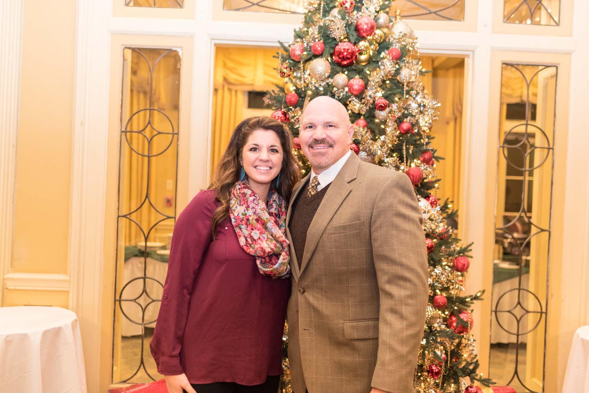Sarah Schreve and Pastor Jeff Schreve