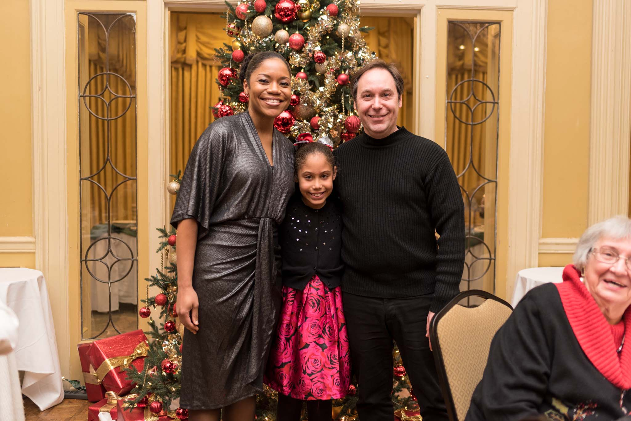Candace Taylor with Miriam and Marc André Bougie