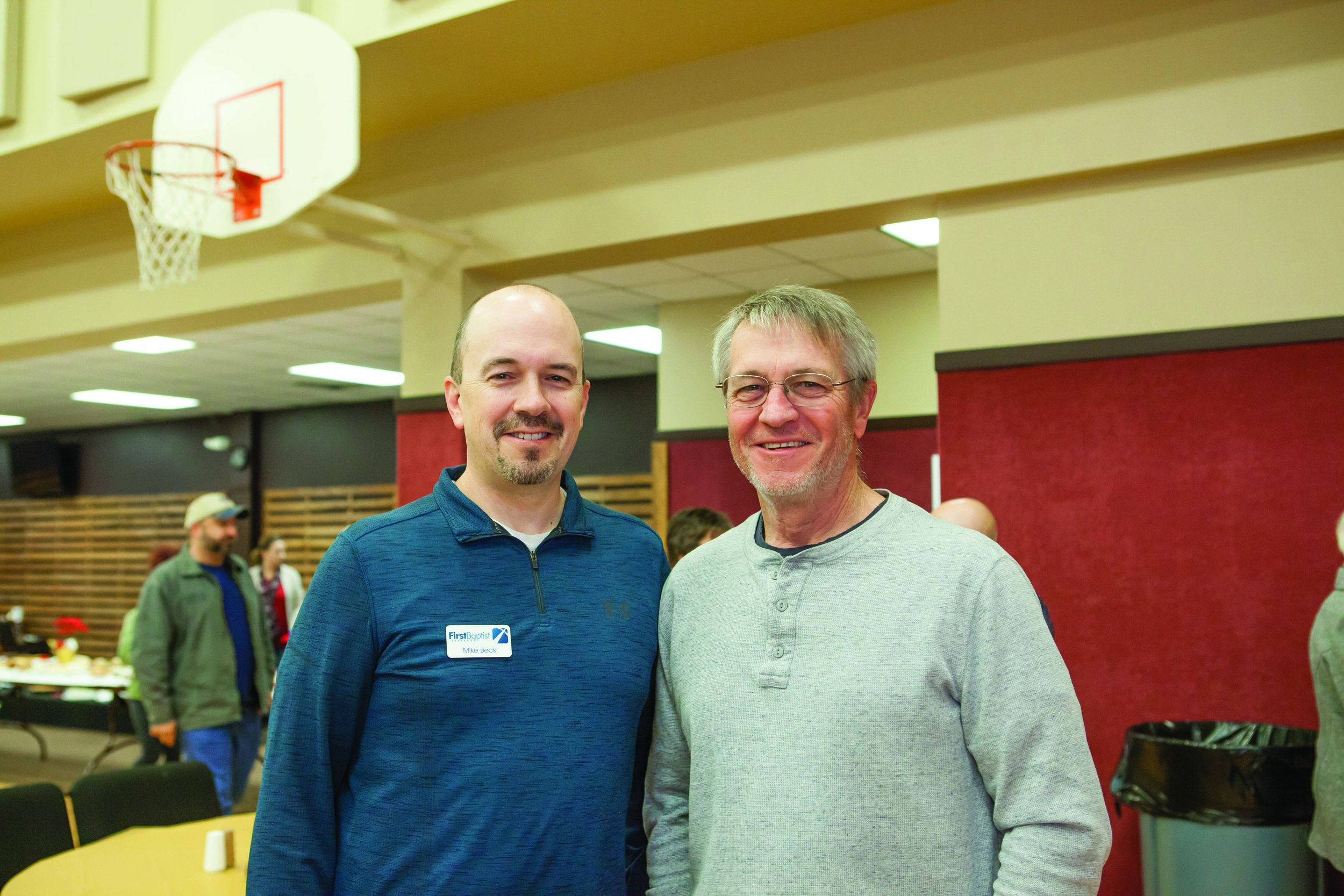 Mike Beck and Brisco Davis
