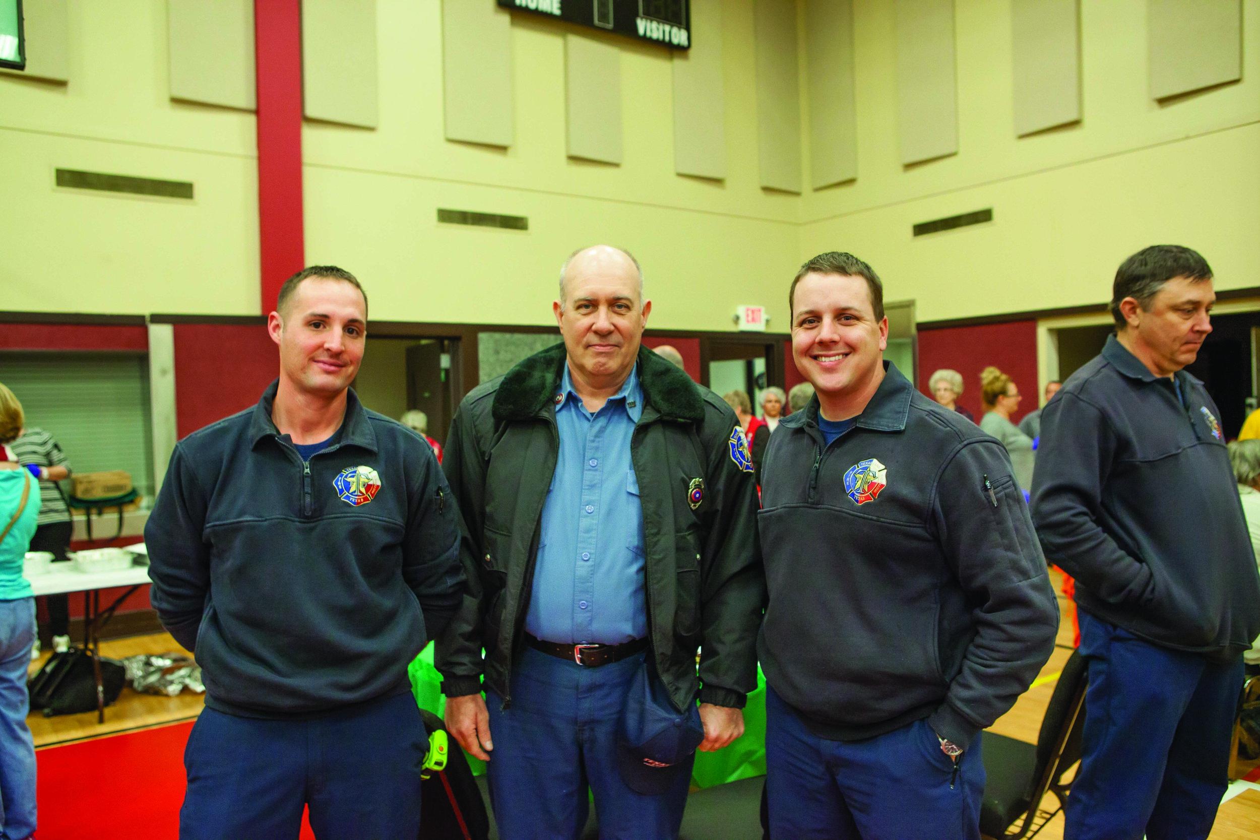 Mitchel Wood, Keith Smith and Zach Flanagan