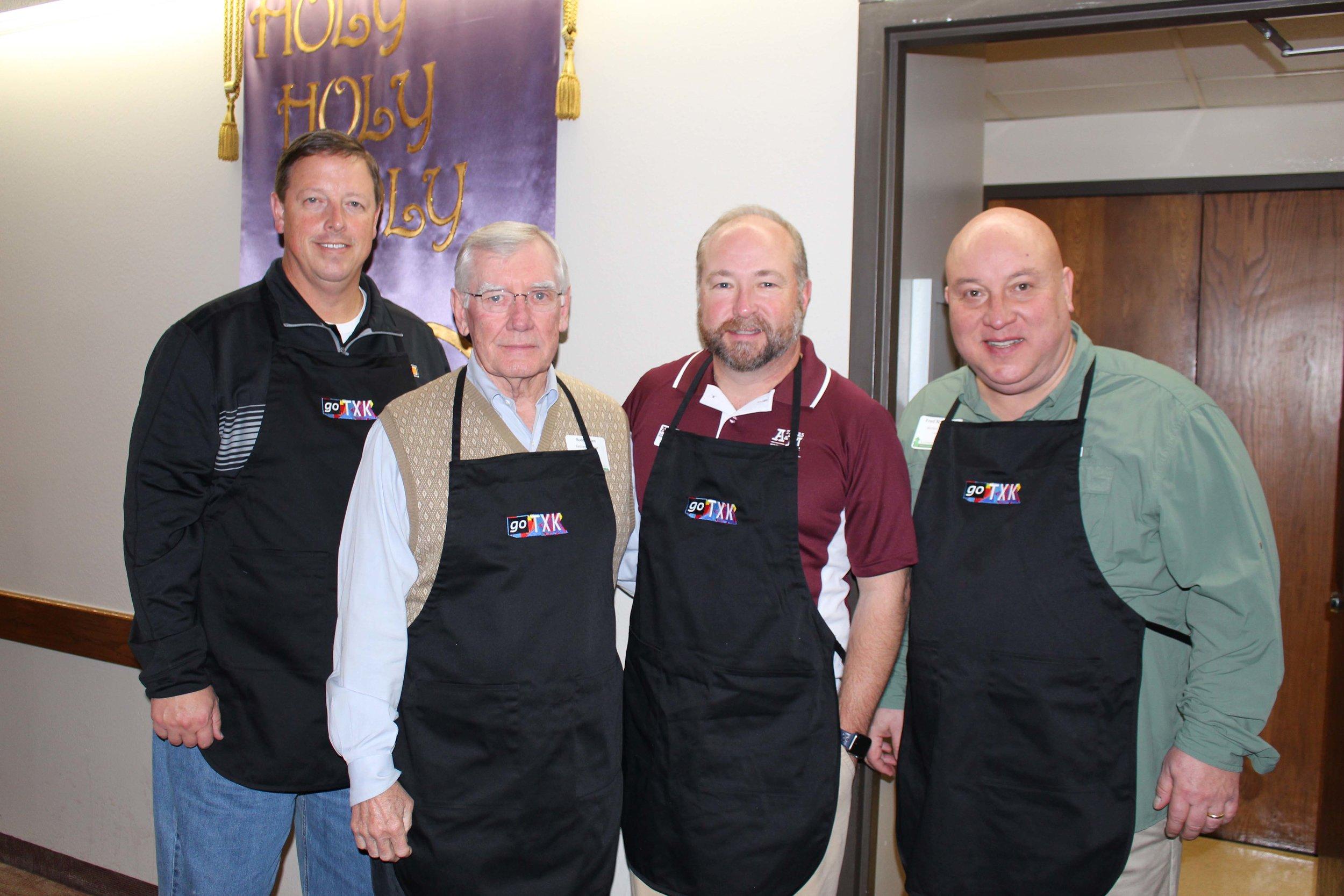 Paul Norton, Buddy Allen, Mark Missildine and Fred Norton